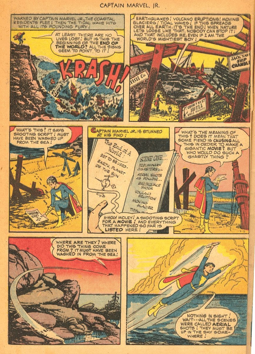 Captain Marvel, Jr. issue 84 - Page 7
