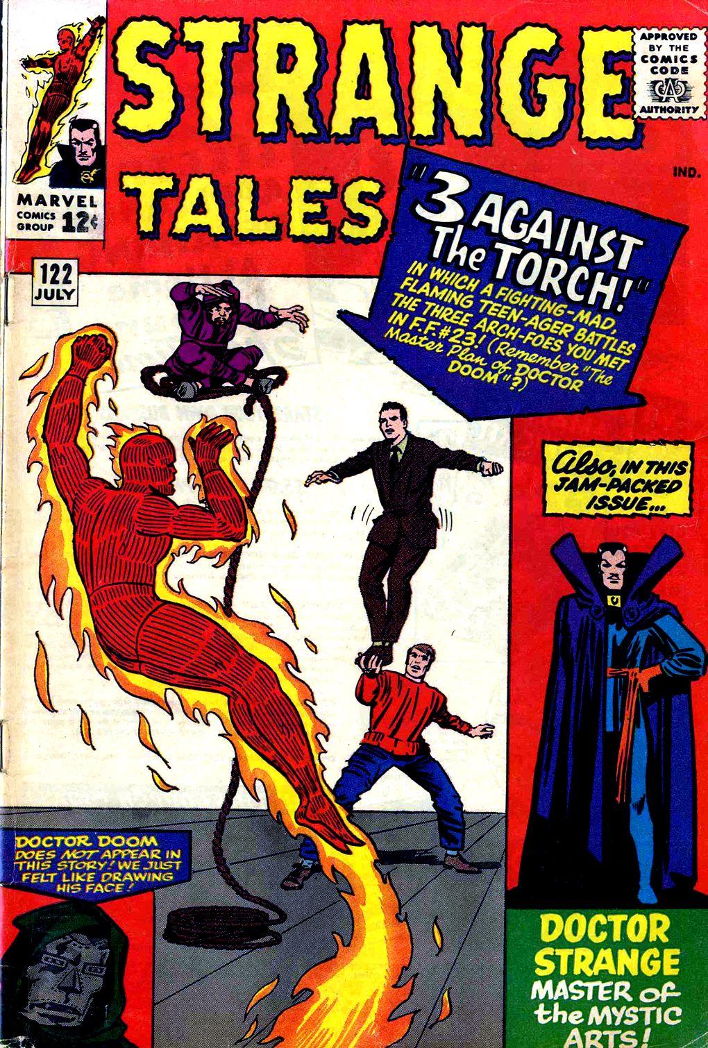 Strange Tales (1951) 122 Page 1