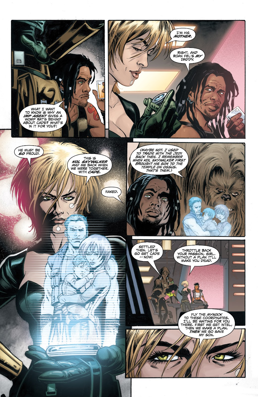 Read online Star Wars Legends: Legacy - Epic Collection comic -  Issue # TPB 1 (Part 4) - 74