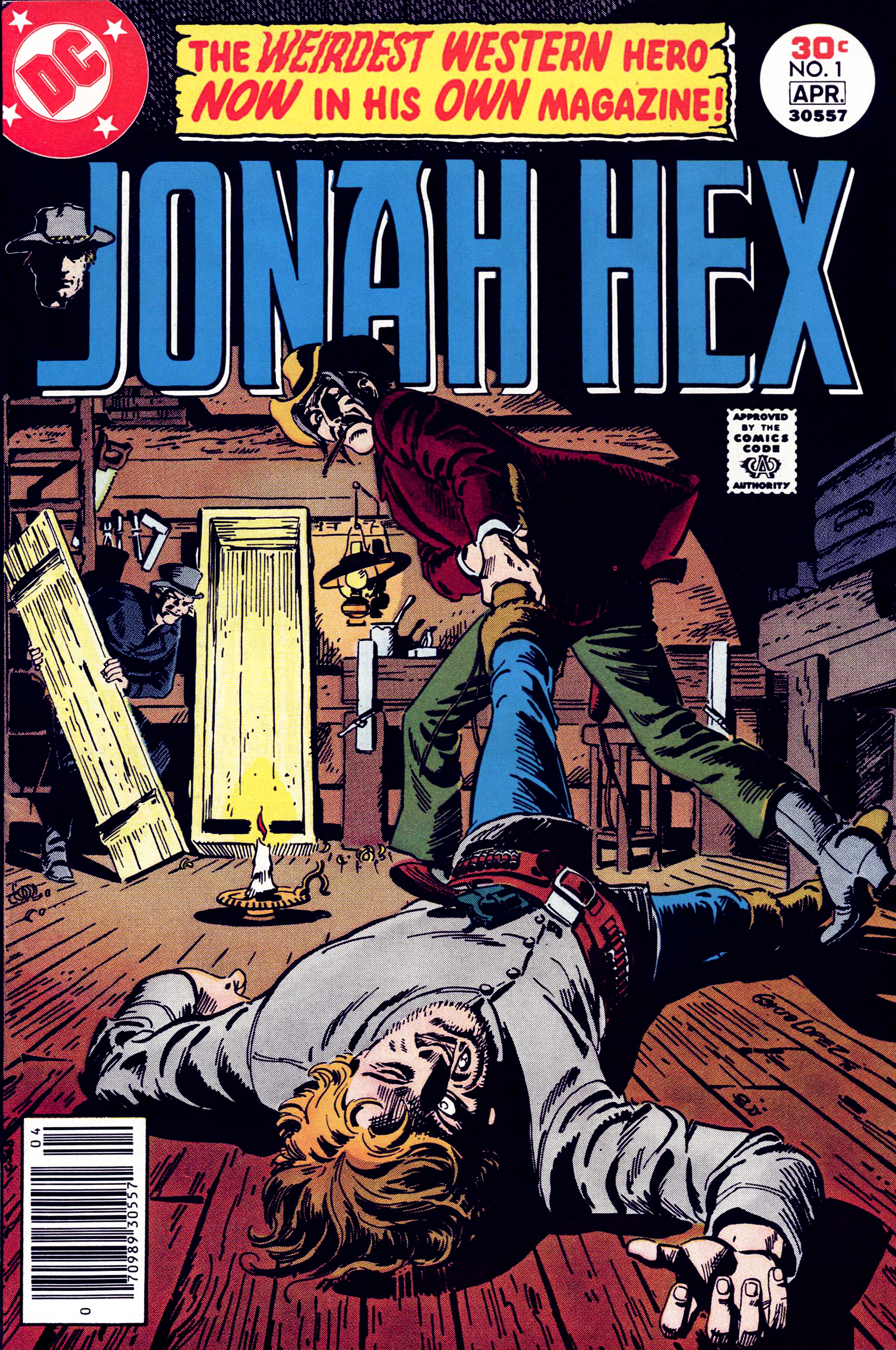 Jonah Hex (1977) 1 Page 1