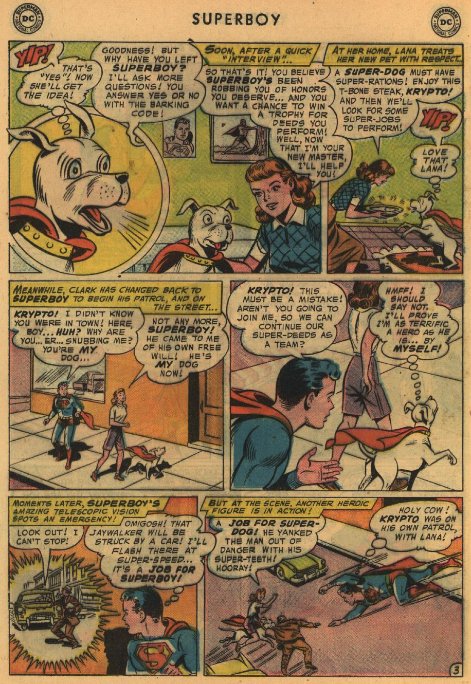 Superboy (1949) issue 64 - Page 23