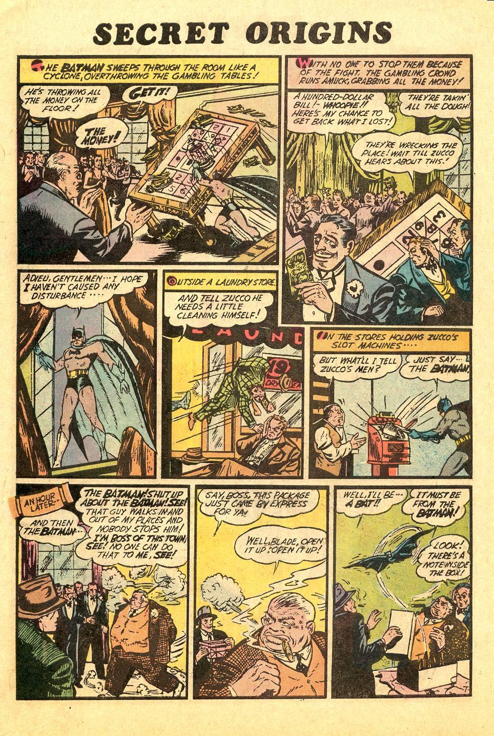 Read online Secret Origins (1973) comic -  Issue #7 - 10