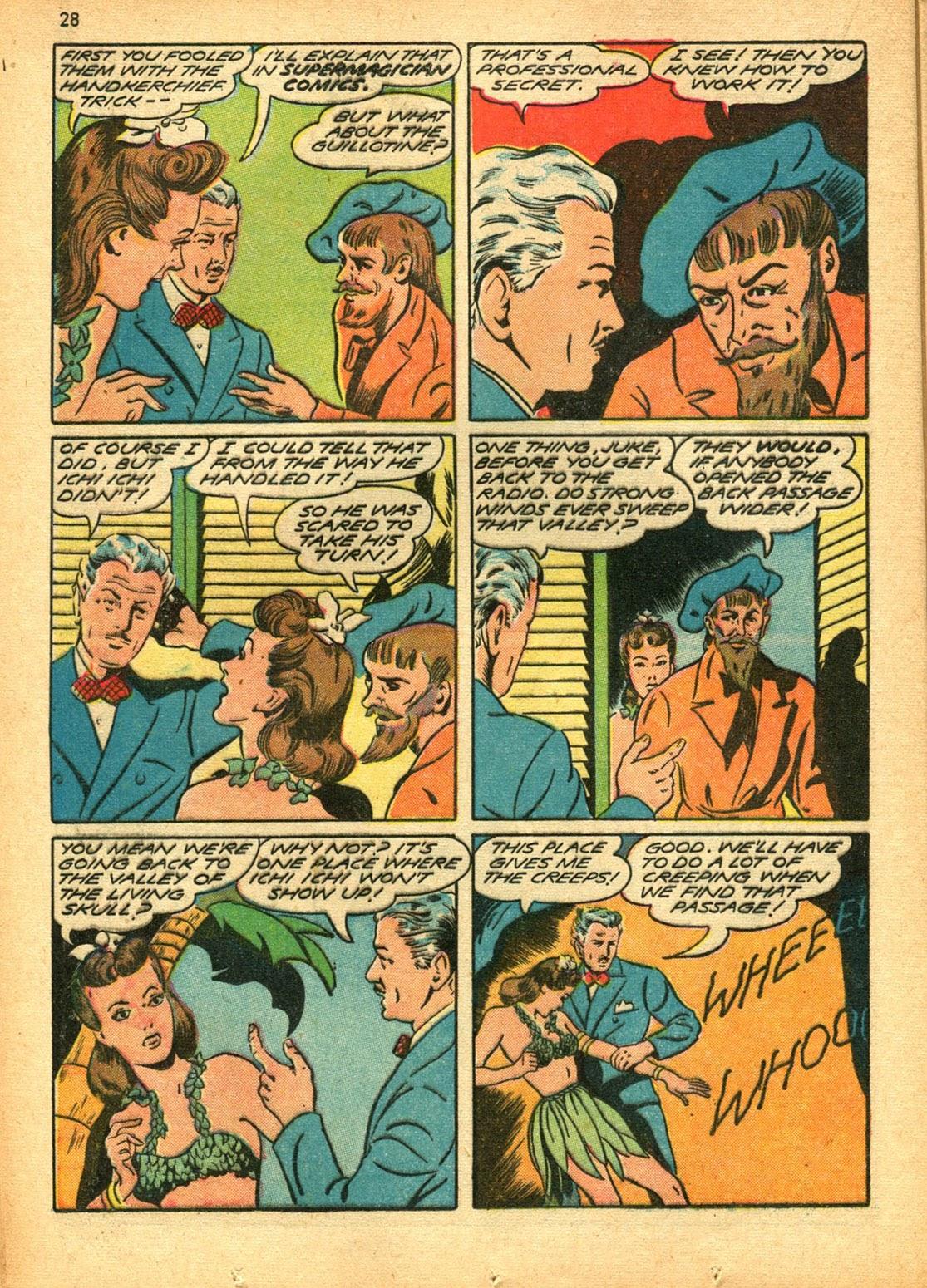 Read online Super-Magician Comics comic -  Issue #15 - 28