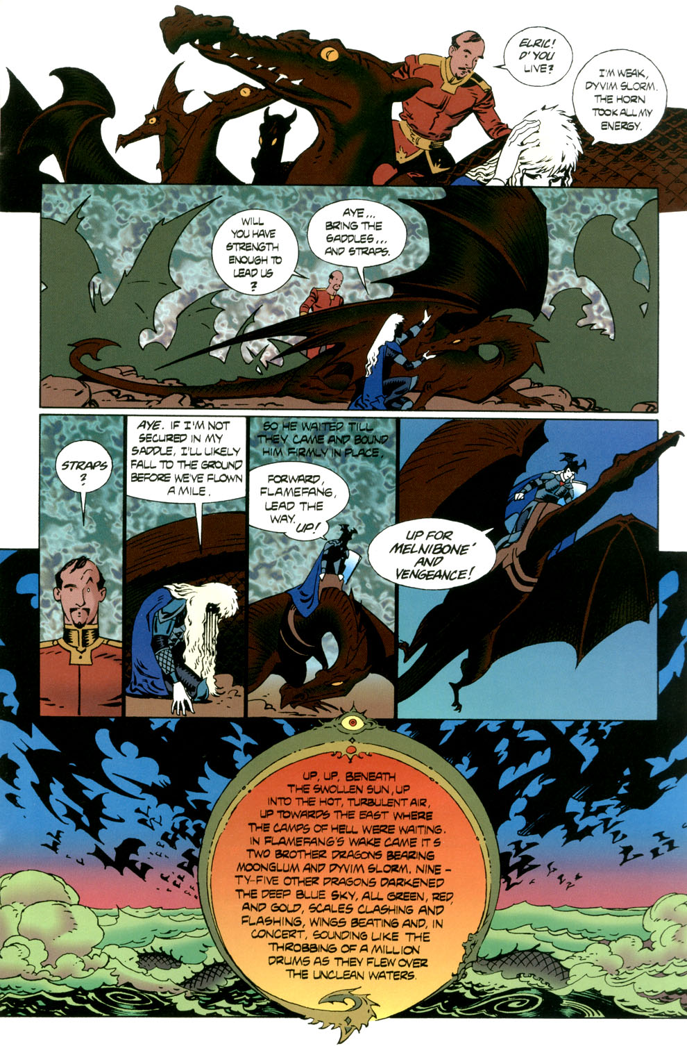 Read online Elric: Stormbringer comic -  Issue #6 - 25
