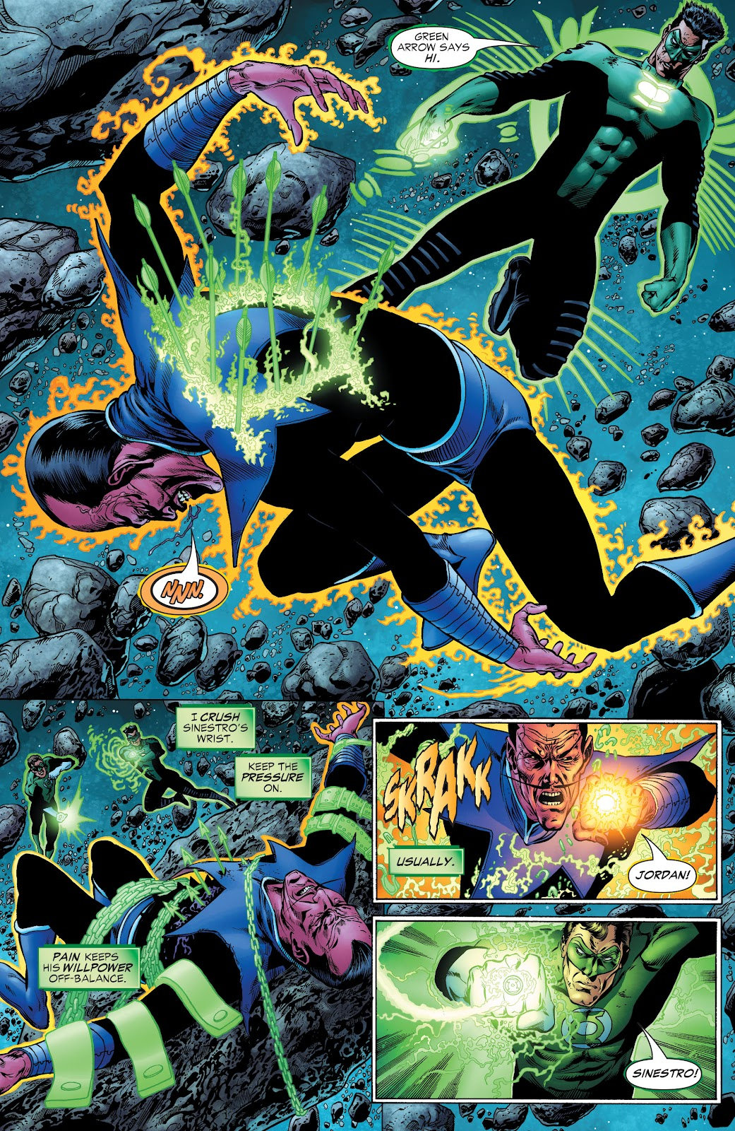 Read online Green Lantern by Geoff Johns comic -  Issue # TPB 1 (Part 2) - 25