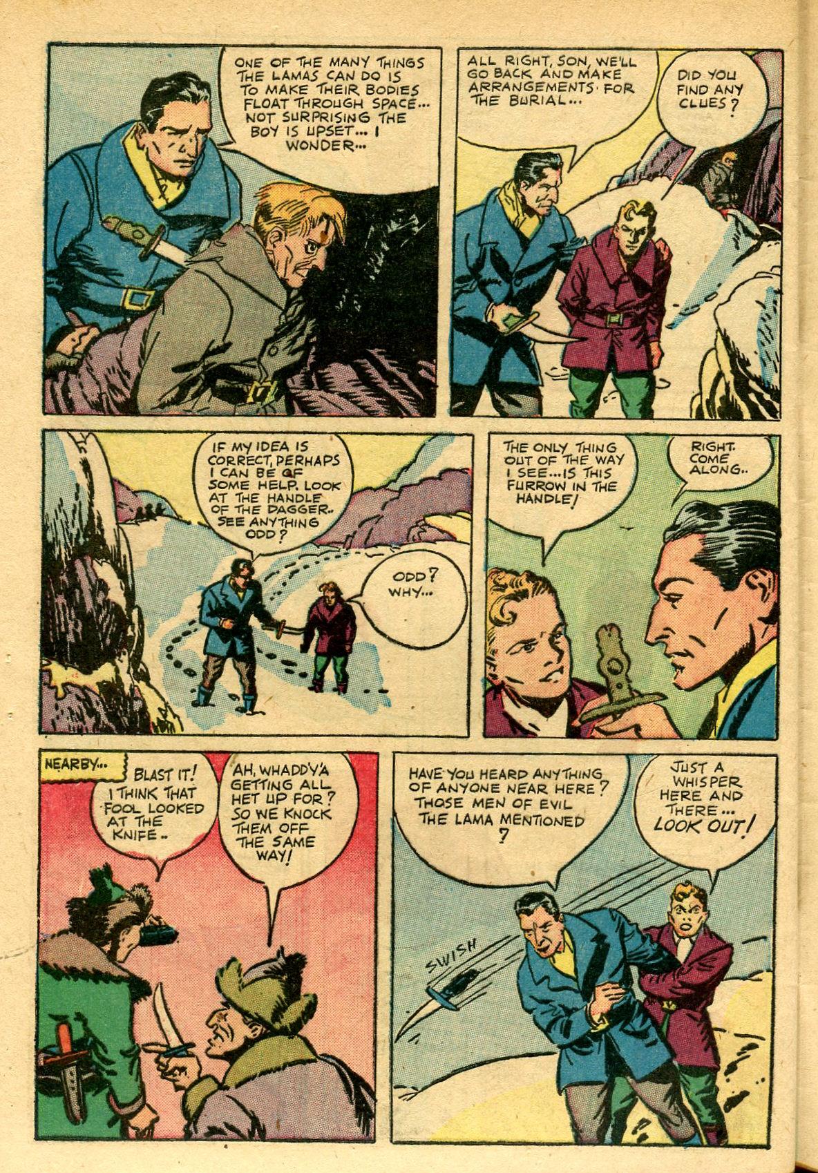 Read online Shadow Comics comic -  Issue #69 - 44