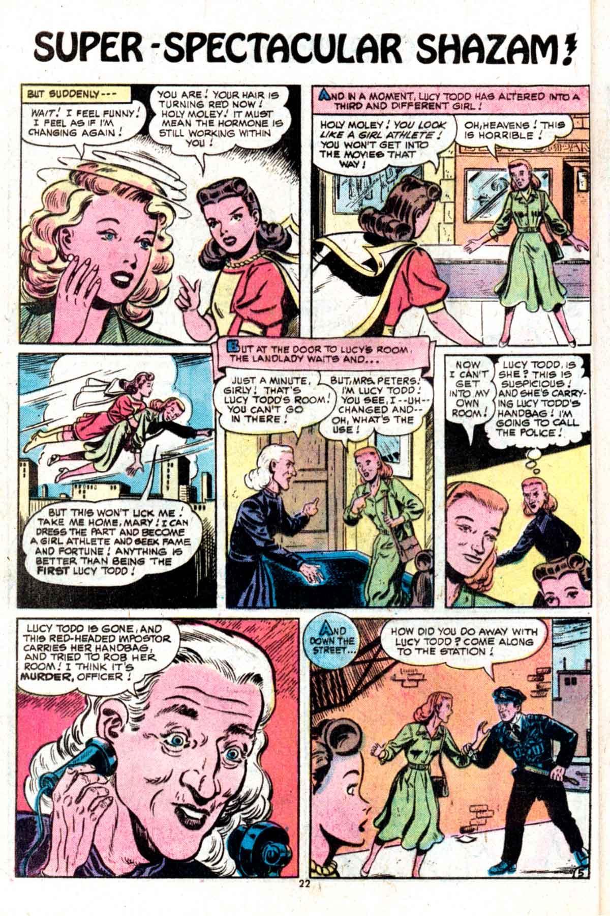 Read online Shazam! (1973) comic -  Issue #15 - 22
