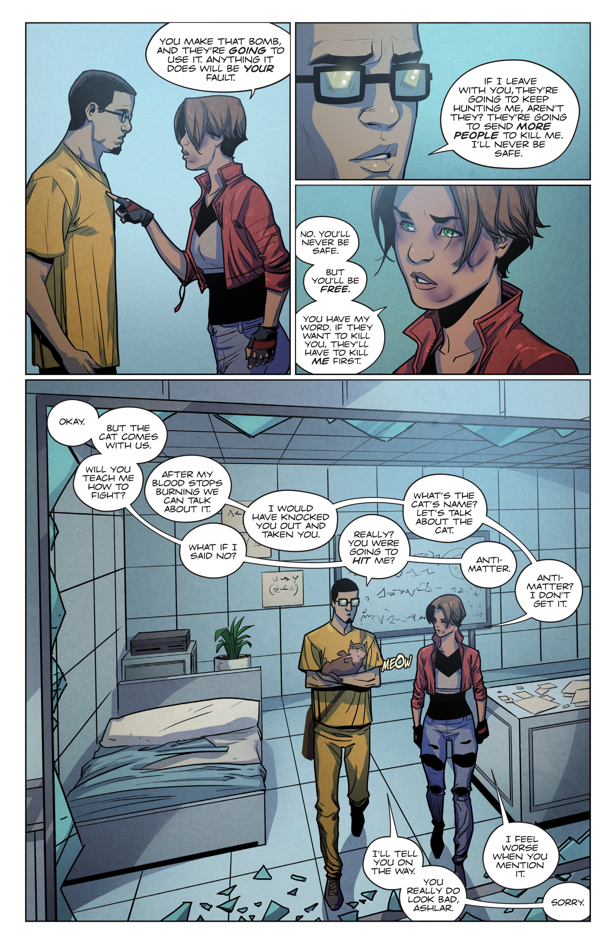 Read online Romulus comic -  Issue #4 - 16