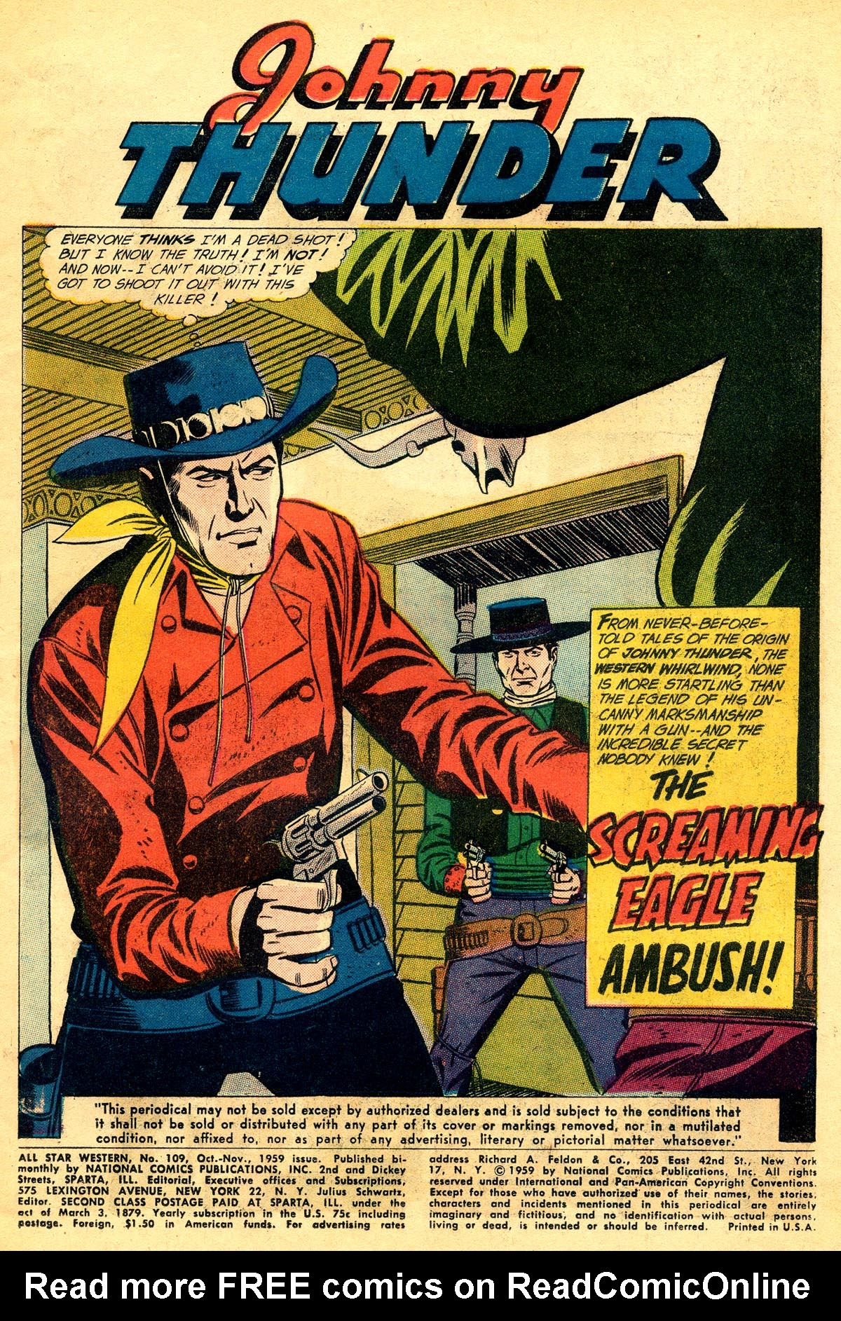 Read online All-Star Western (1951) comic -  Issue #109 - 3
