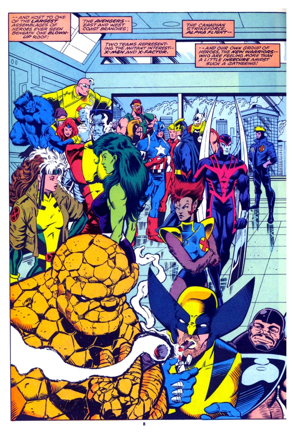 The New Warriors Issue #27 #31 - English 7