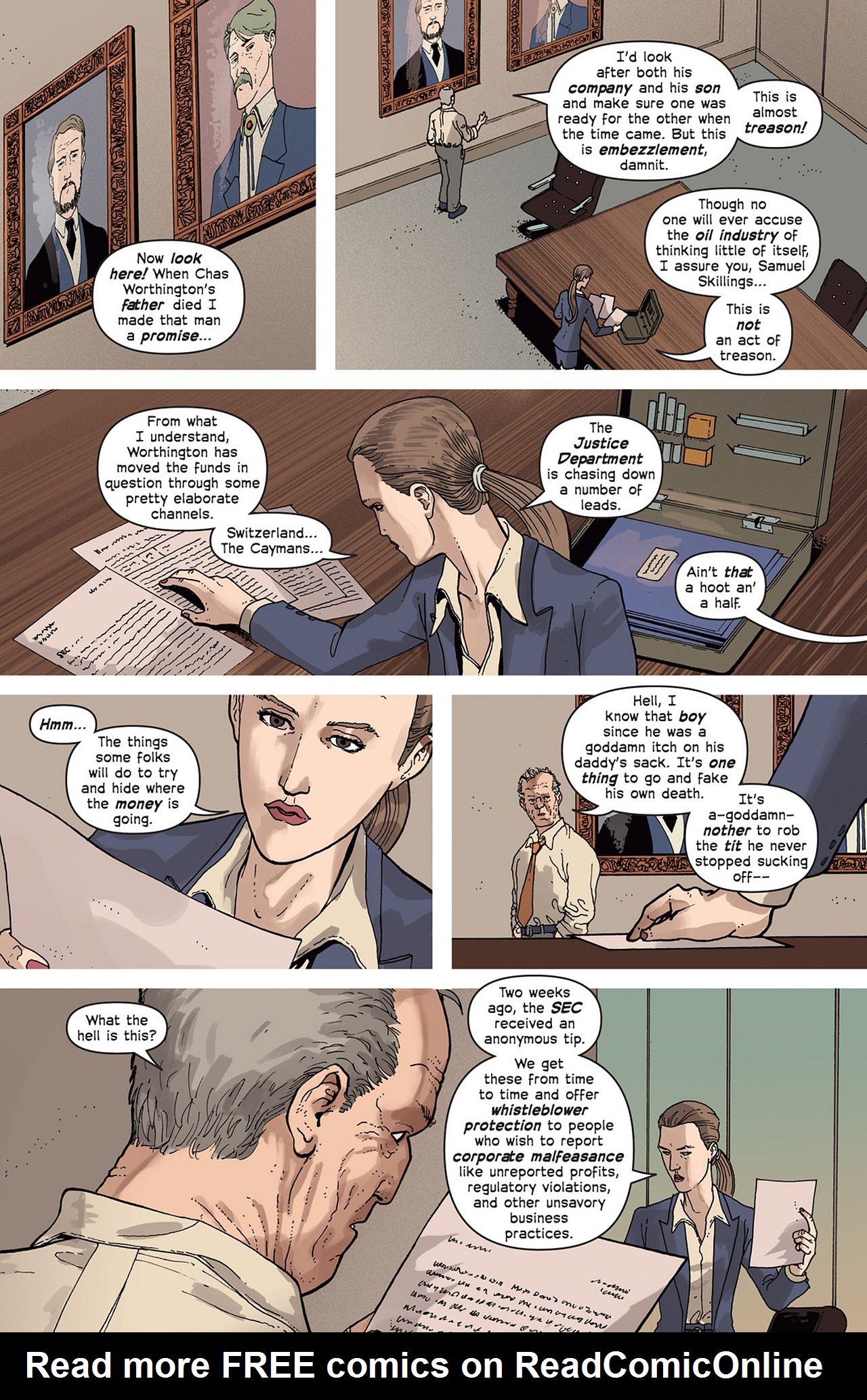 Read online Great Pacific comic -  Issue #2 - 9