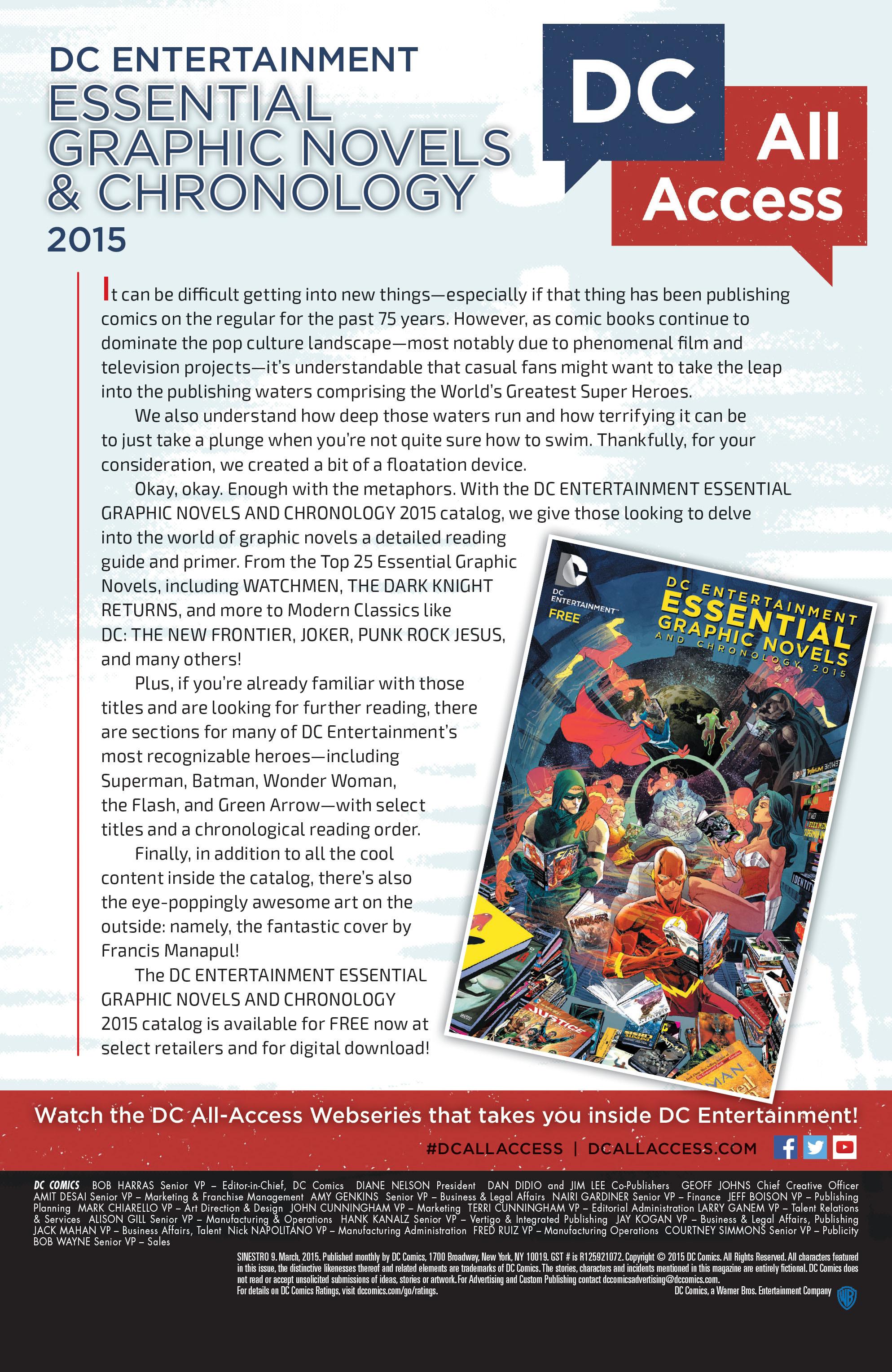 Read online Sinestro comic -  Issue #9 - 23