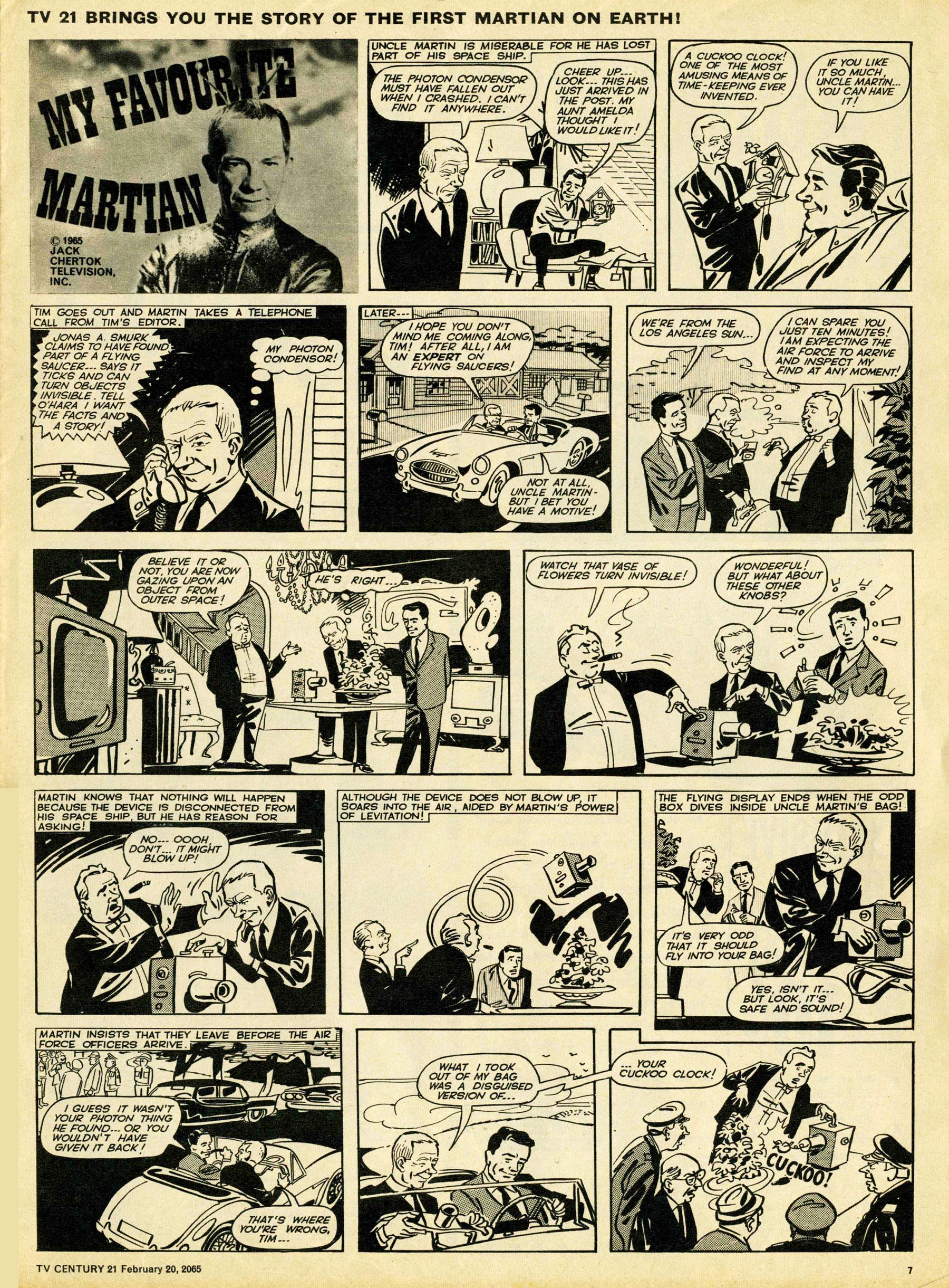 Read online TV Century 21 (TV 21) comic -  Issue #5 - 7