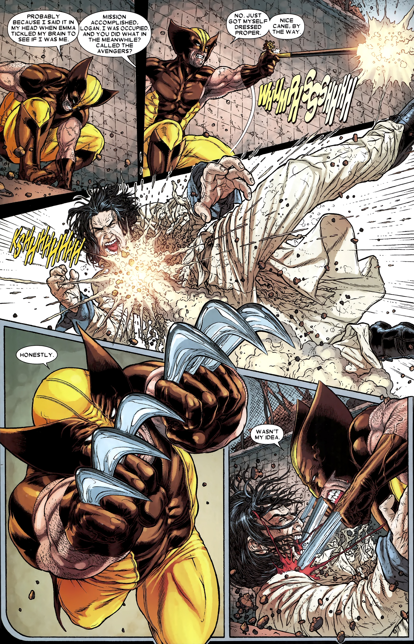 Read online Wolverine: The Best There Is comic -  Issue #12 - 16