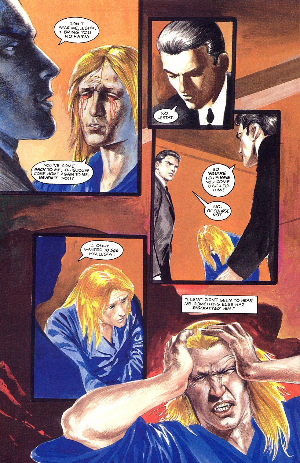 Read online Anne Rice's Interview with the Vampire comic -  Issue #12 - 16