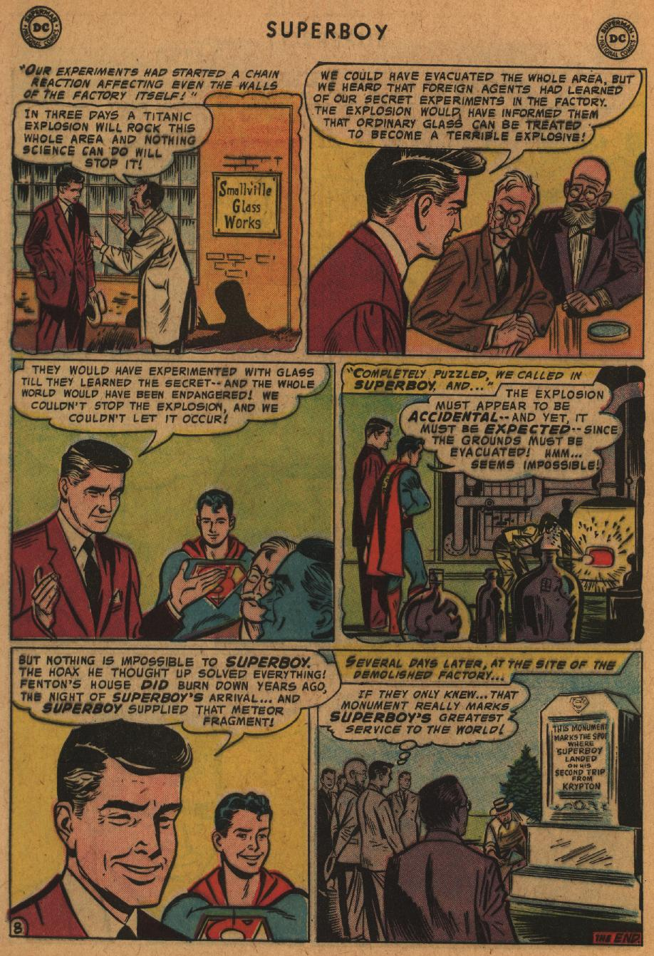 Superboy (1949) issue 63 - Page 9