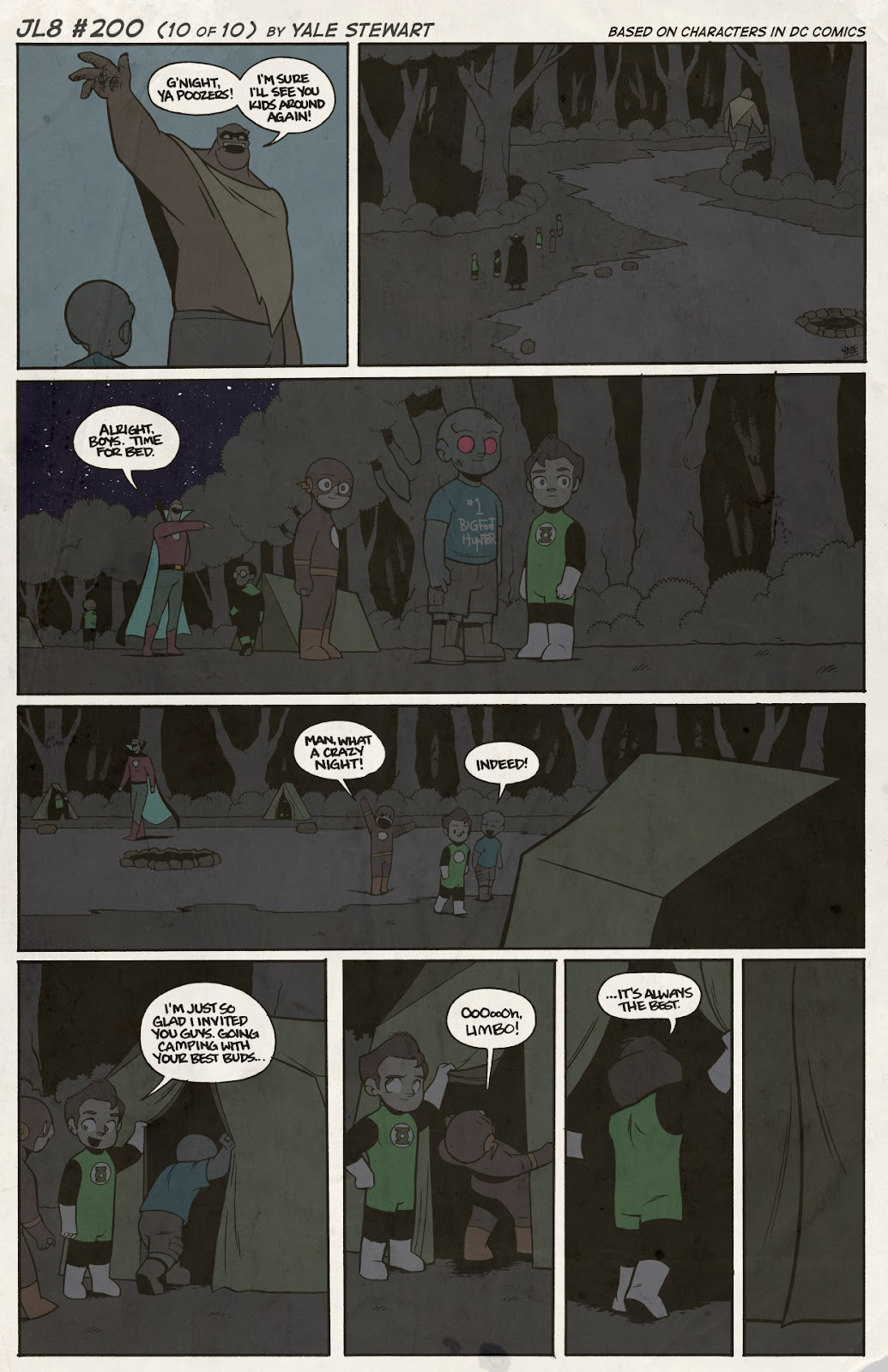 Read online JL8 – The Complete Collection comic -  Issue # TPB (Part 2) - 33