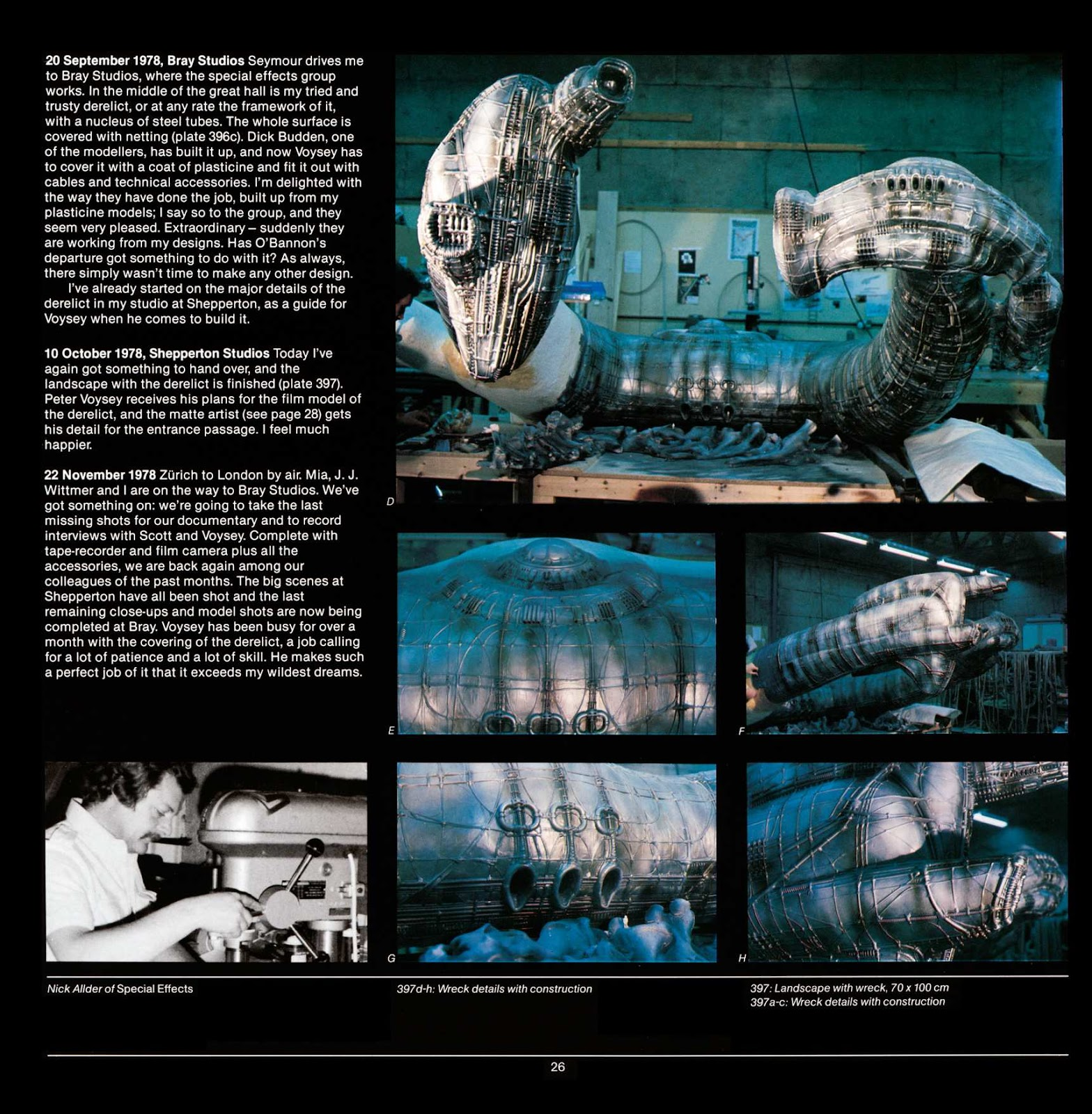 Read online Giger's Alien comic -  Issue # TPB - 28