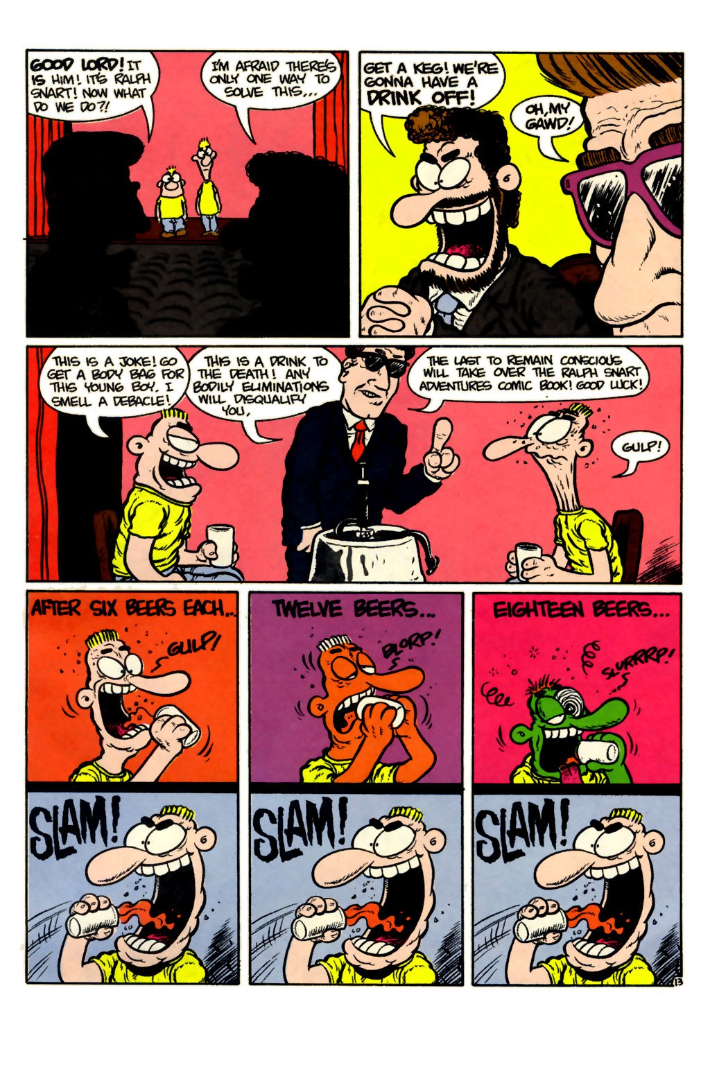 Ralph Snart Adventures (1988) issue 15 - Page 17