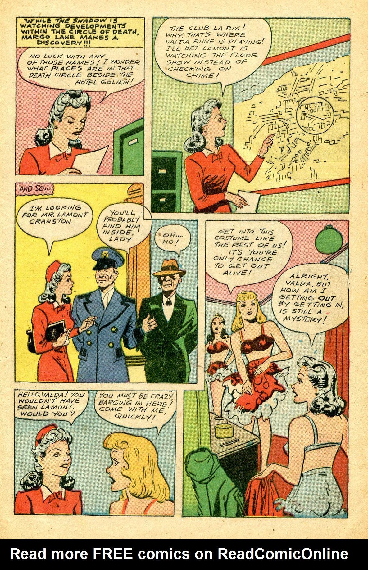 Read online Shadow Comics comic -  Issue #51 - 12