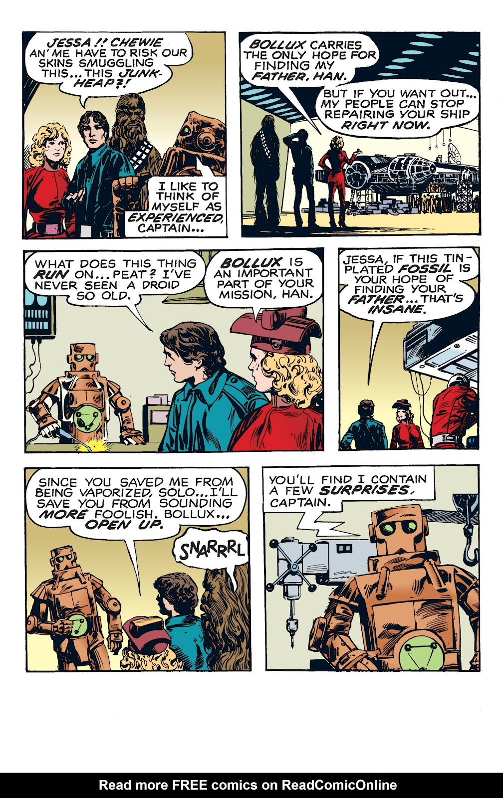Read online Star Wars Legends: The Newspaper Strips - Epic Collection comic -  Issue # TPB (Part 4) - 18