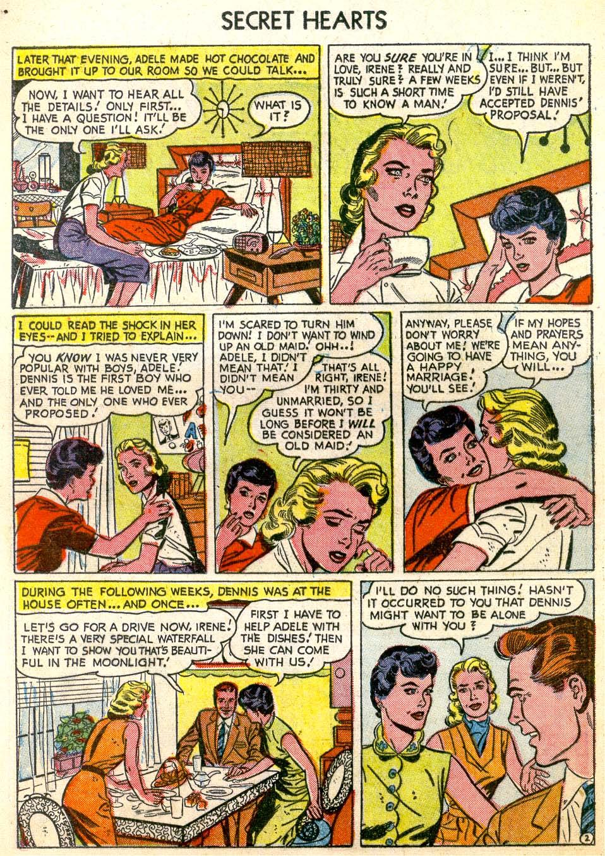 Read online Secret Hearts comic -  Issue #26 - 12