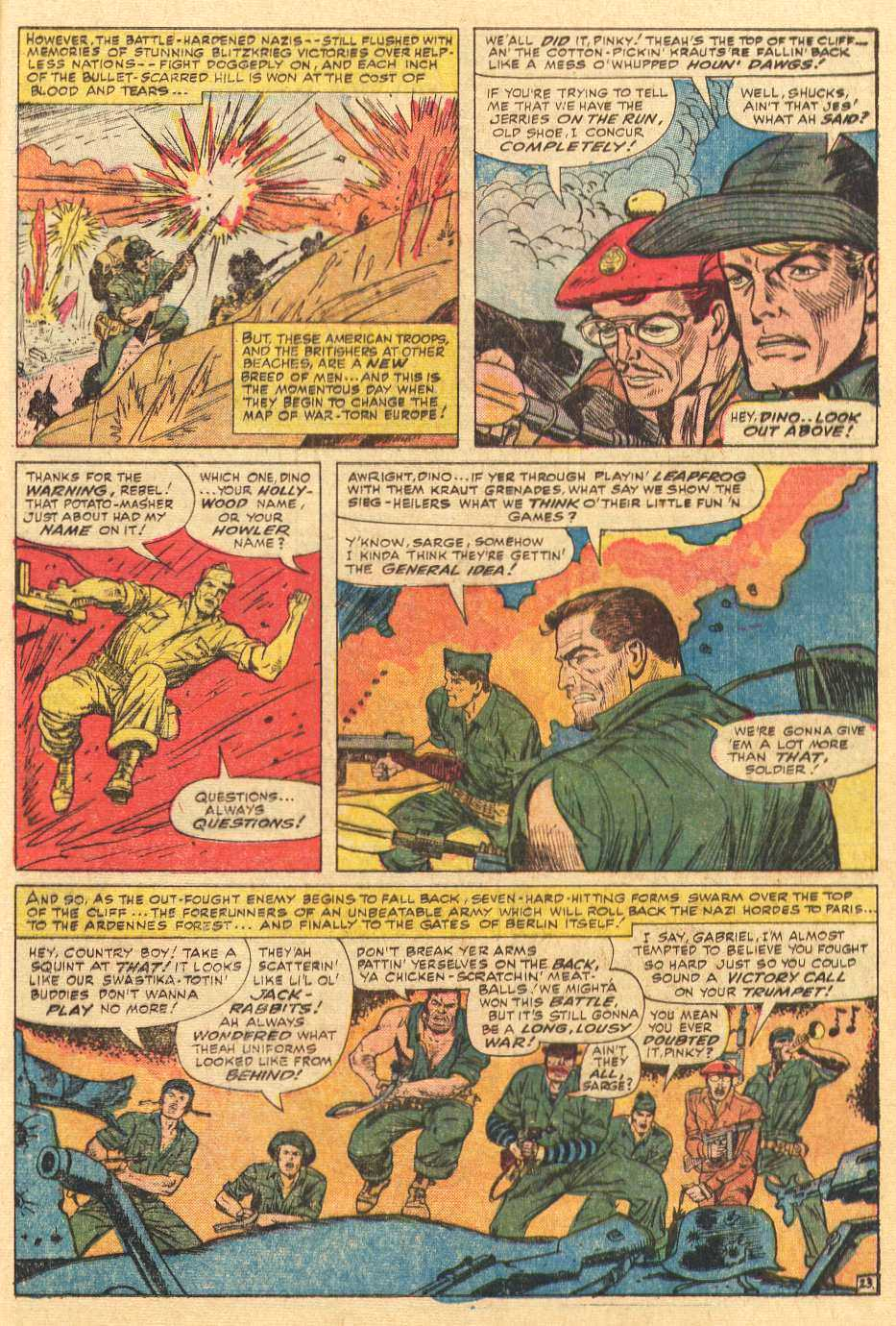 Read online Sgt. Fury comic -  Issue # _Special 2 - 25