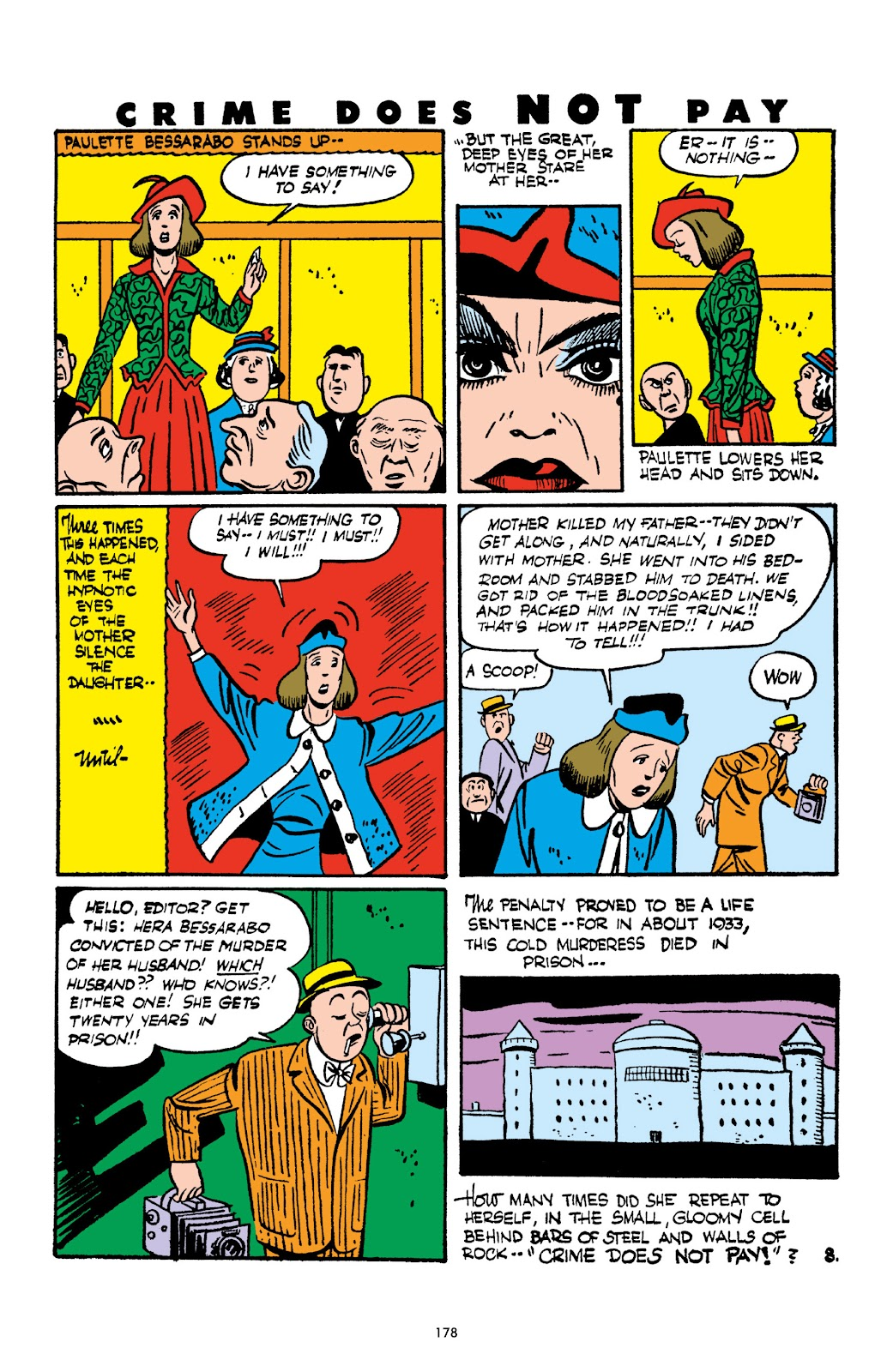 Read online Crime Does Not Pay Archives comic -  Issue # TPB 2 (Part 2) - 78
