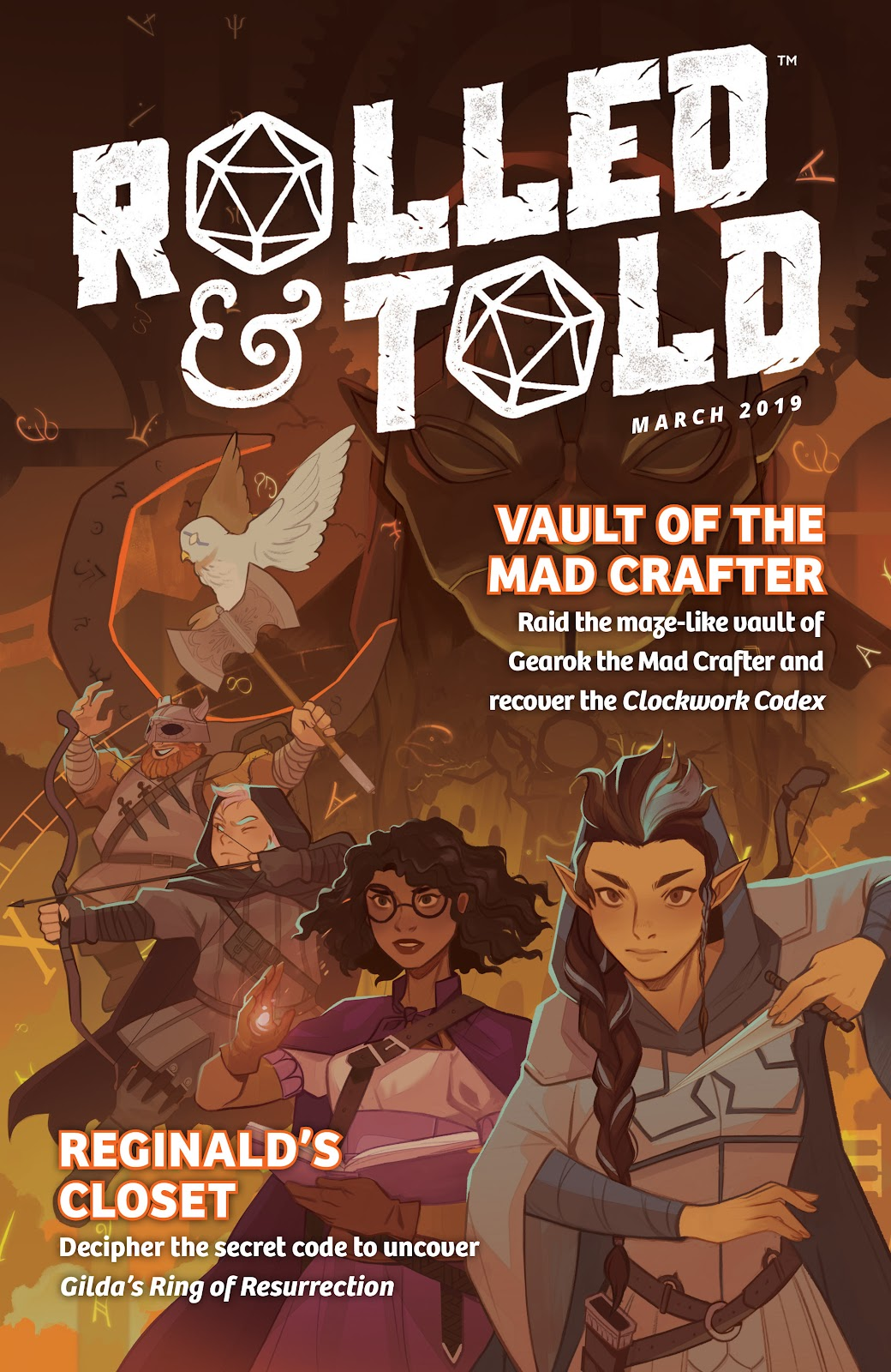 Read online Rolled & Told comic -  Issue #7 - 1
