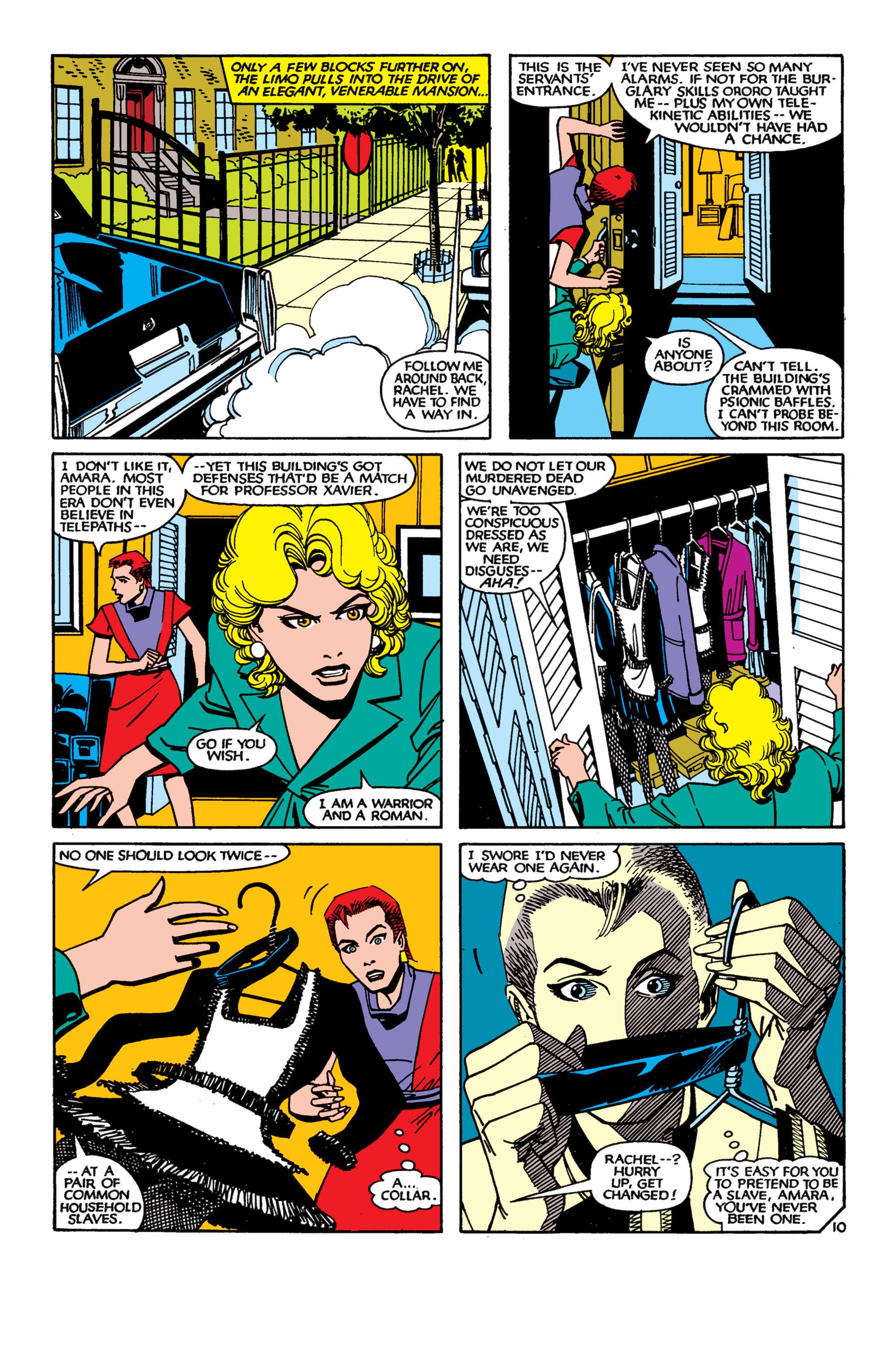 Read online Uncanny X-Men (1963) comic -  Issue #189 - 10