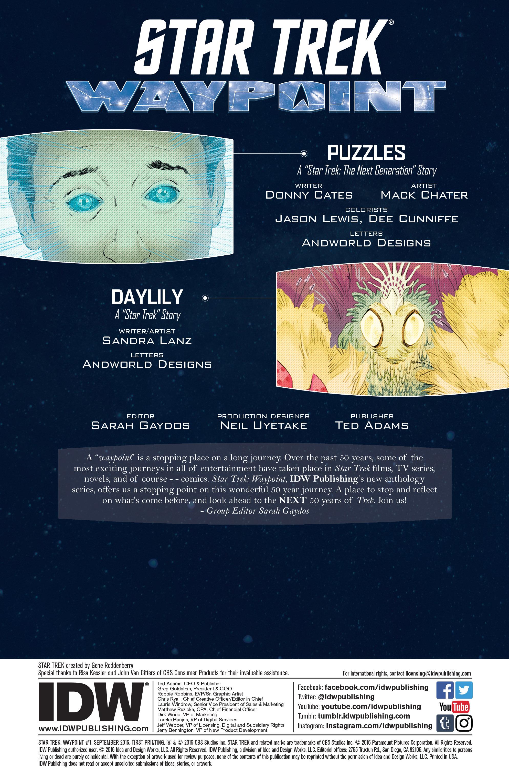 Read online Star Trek: Deviations comic -  Issue # Full - 43