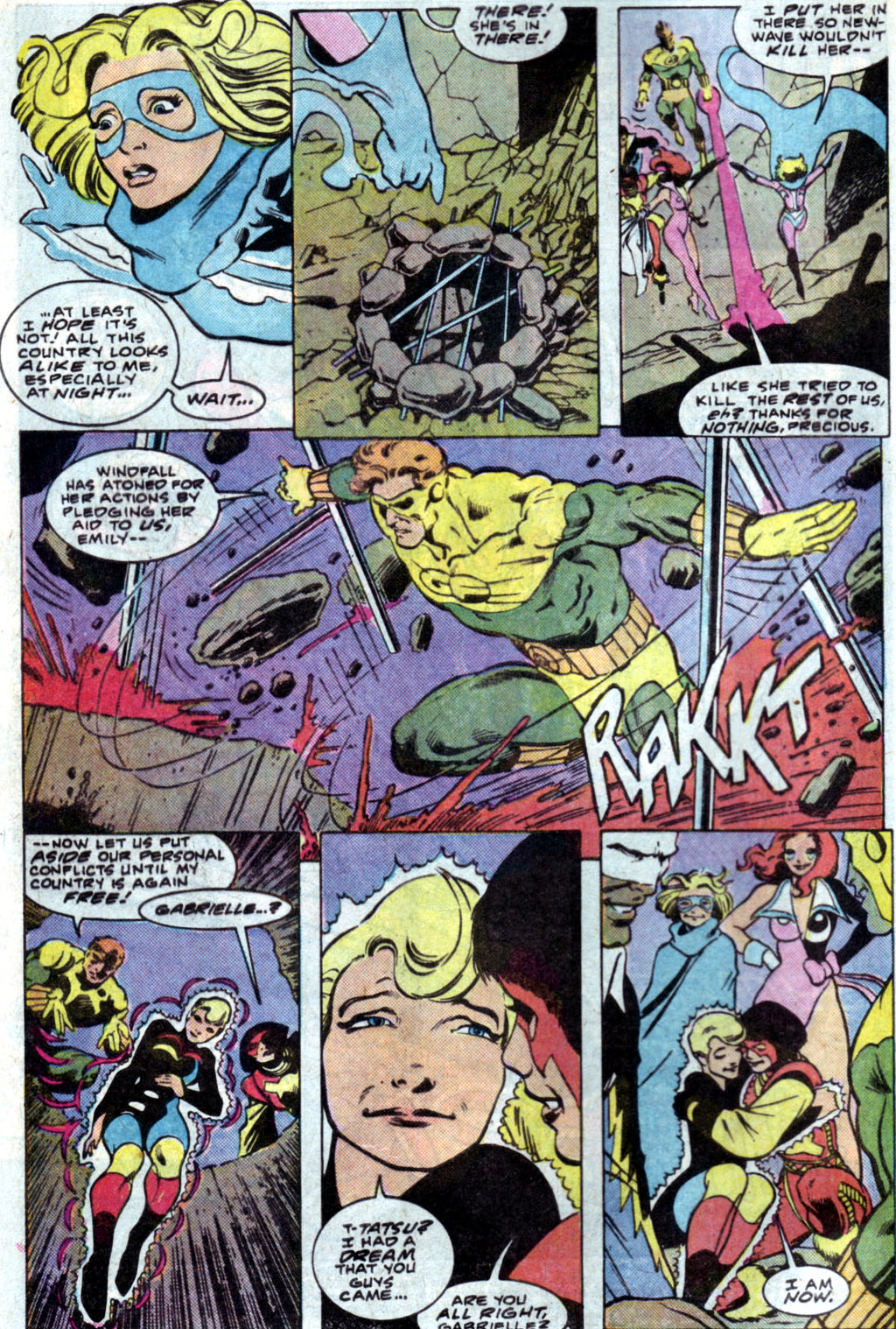 Read online Adventures of the Outsiders comic -  Issue #35 - 4
