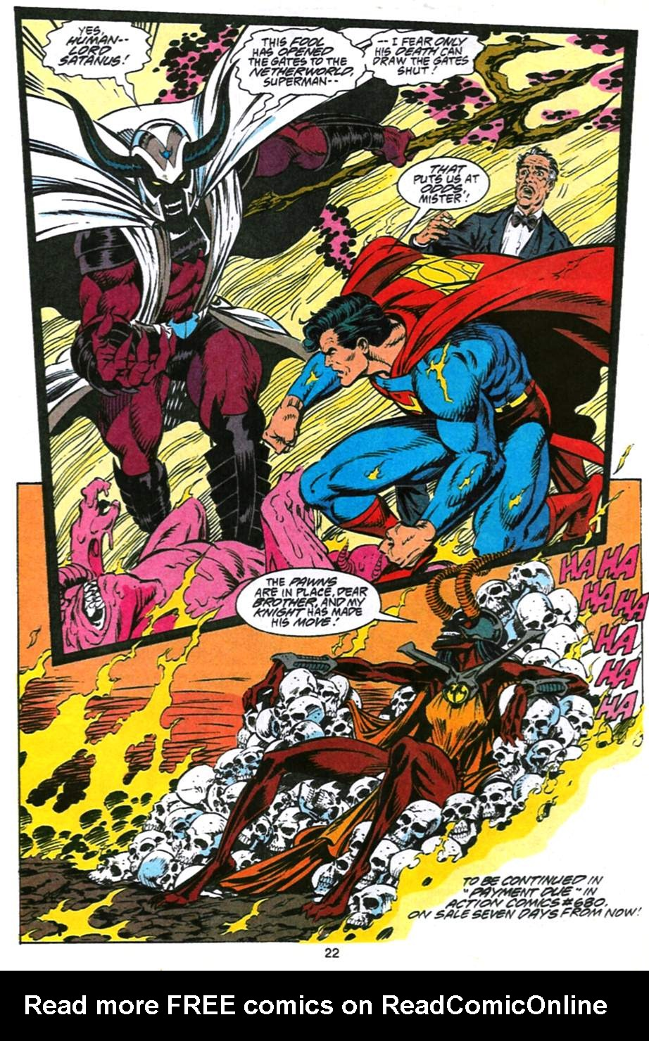 Read online Adventures of Superman (1987) comic -  Issue #493 - 23