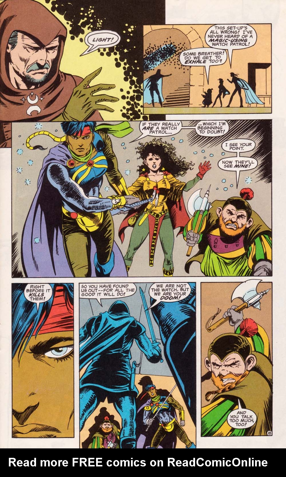 Read online Advanced Dungeons & Dragons comic -  Issue #5 - 19