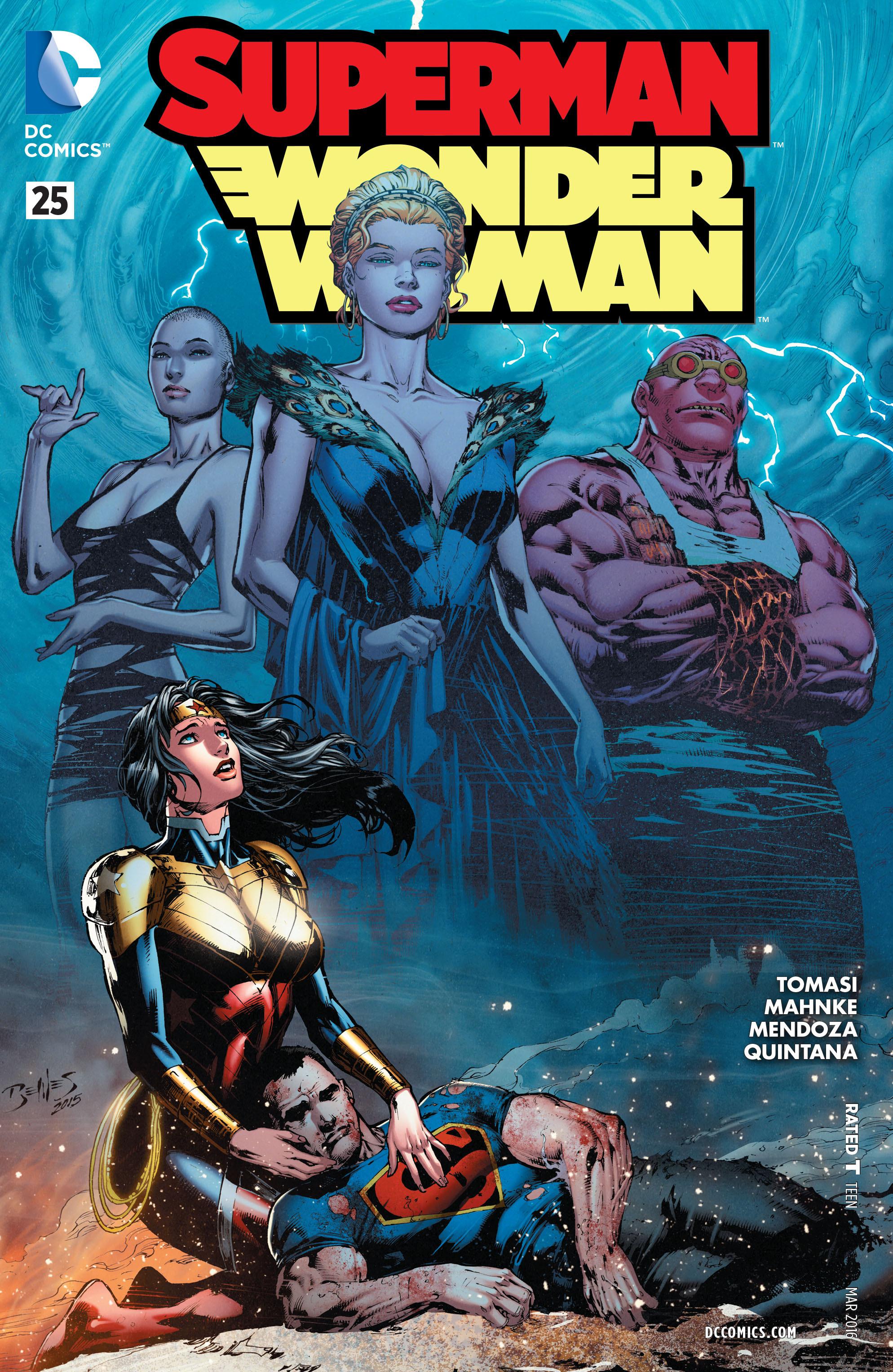 Superman/Wonder Woman 25 Page 1