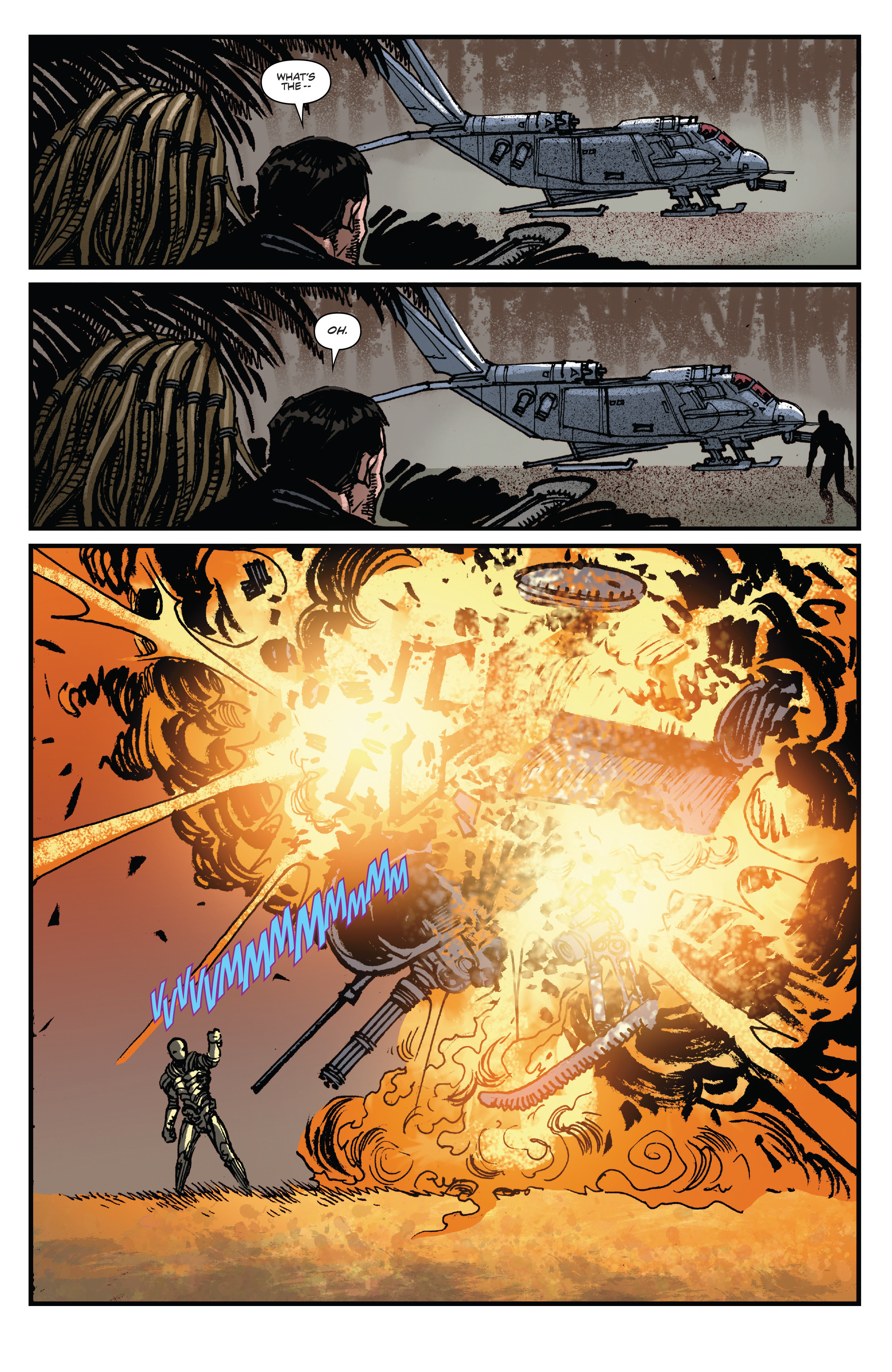 Read online Aliens: Life And Death comic -  Issue #3 - 10