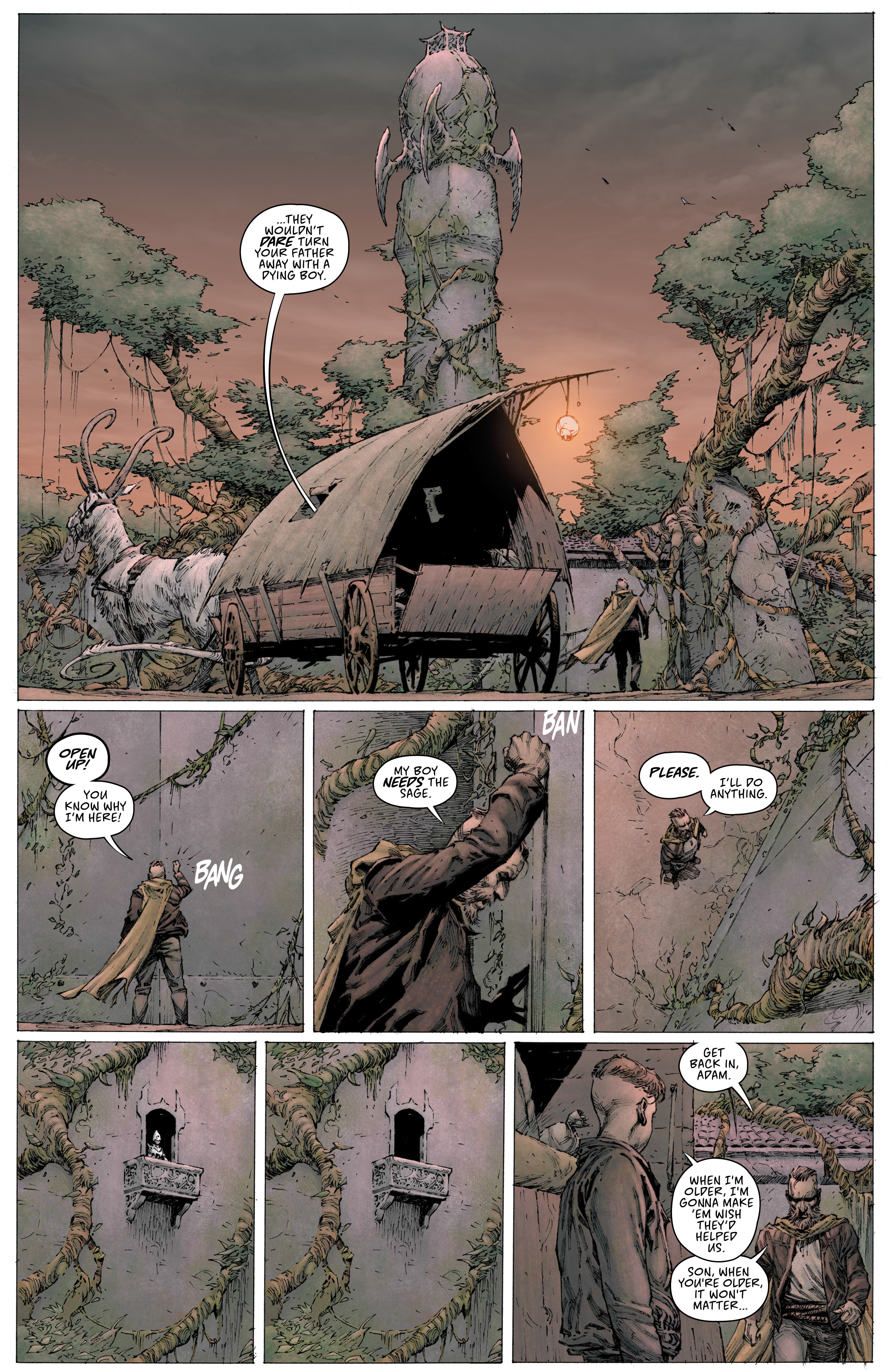 Read online Seven To Eternity comic -  Issue #3 - 5