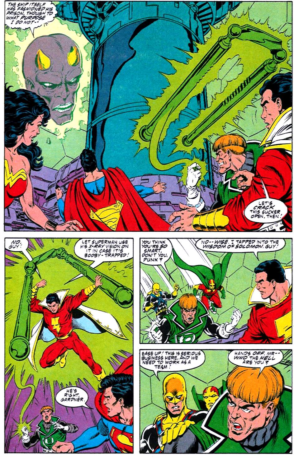 Read online Adventures of Superman (1987) comic -  Issue #488 - 9