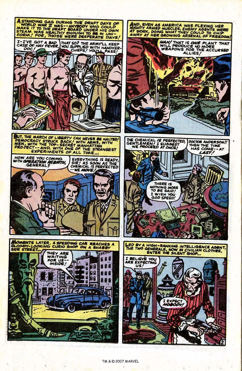 Read online Captain America (1968) comic -  Issue # _Annual 1 - 4