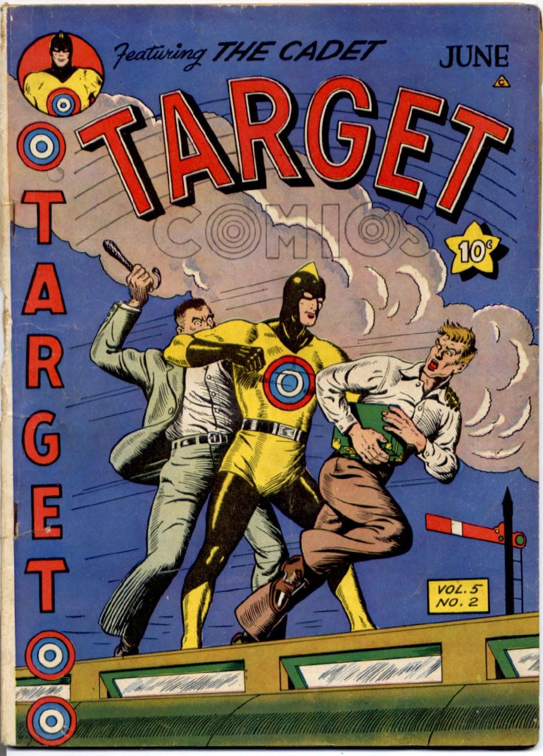 Target Comics 50 Page 1