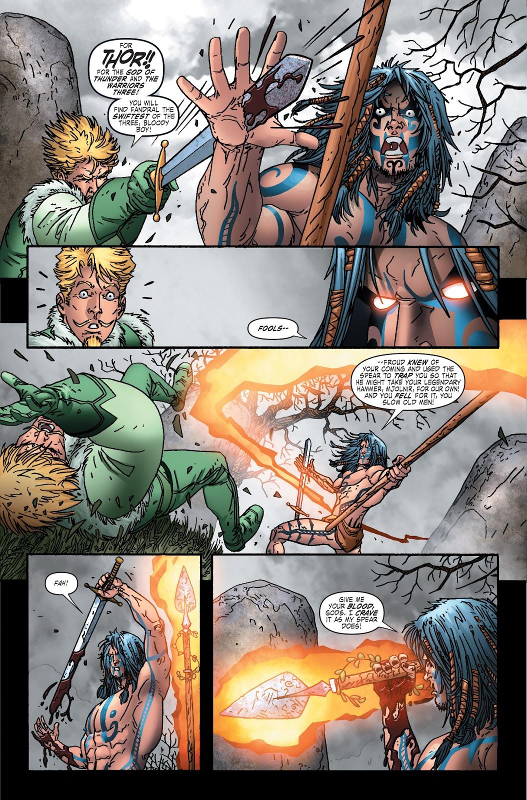 Read online Thor: Ragnaroks comic -  Issue # TPB (Part 1) - 96