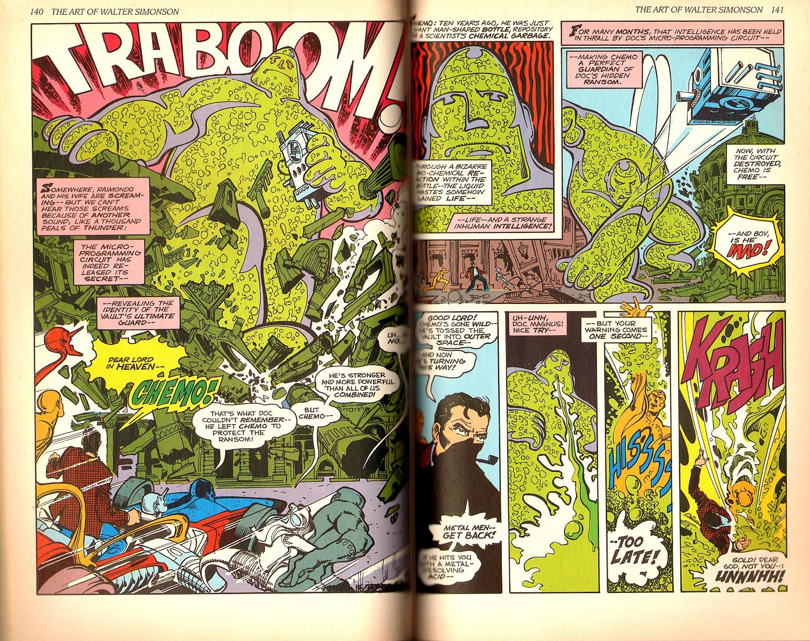 Read online The Art of Walter Simonson comic -  Issue # TPB - 72
