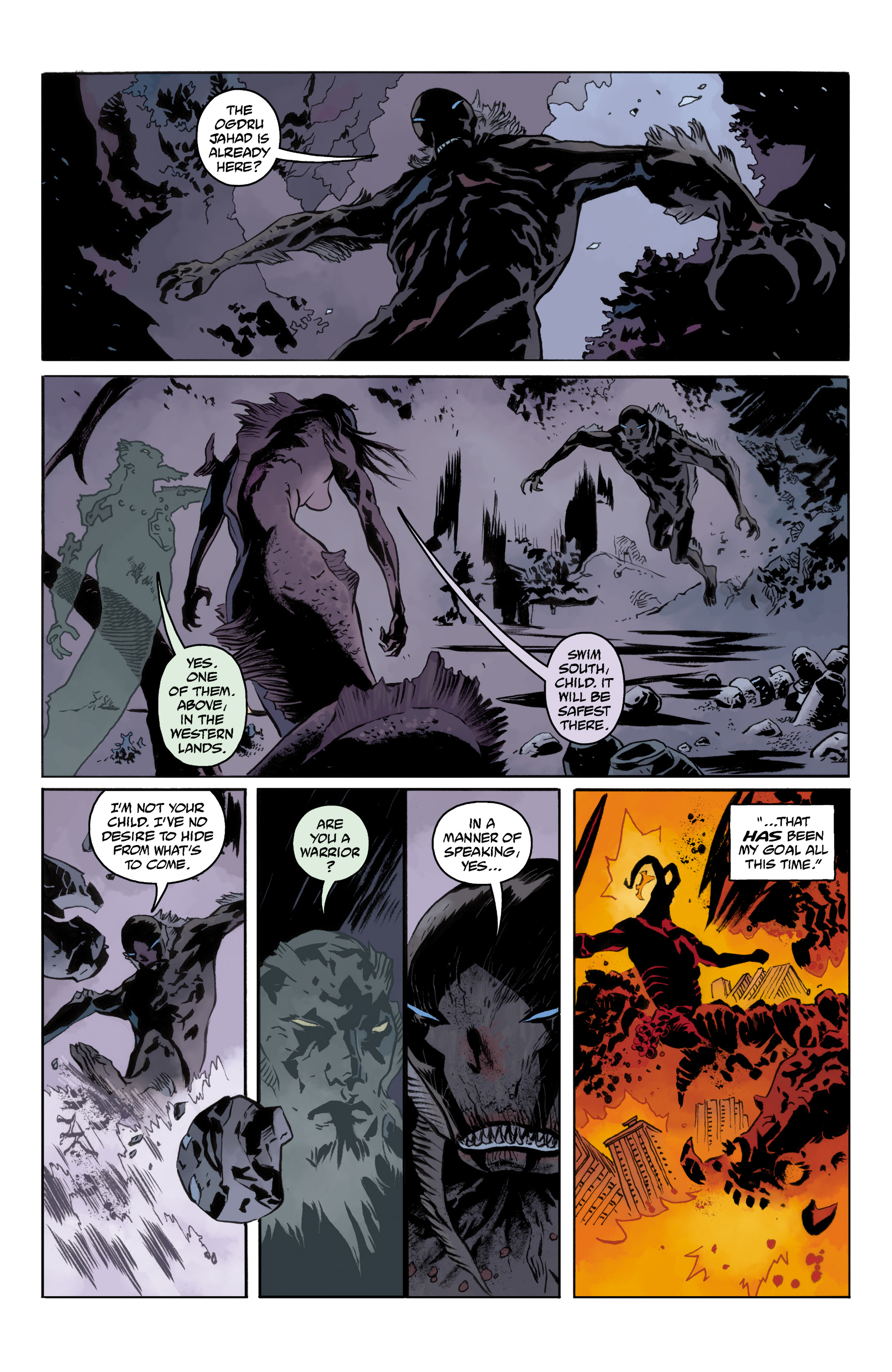 Read online Abe Sapien comic -  Issue #35 - 21