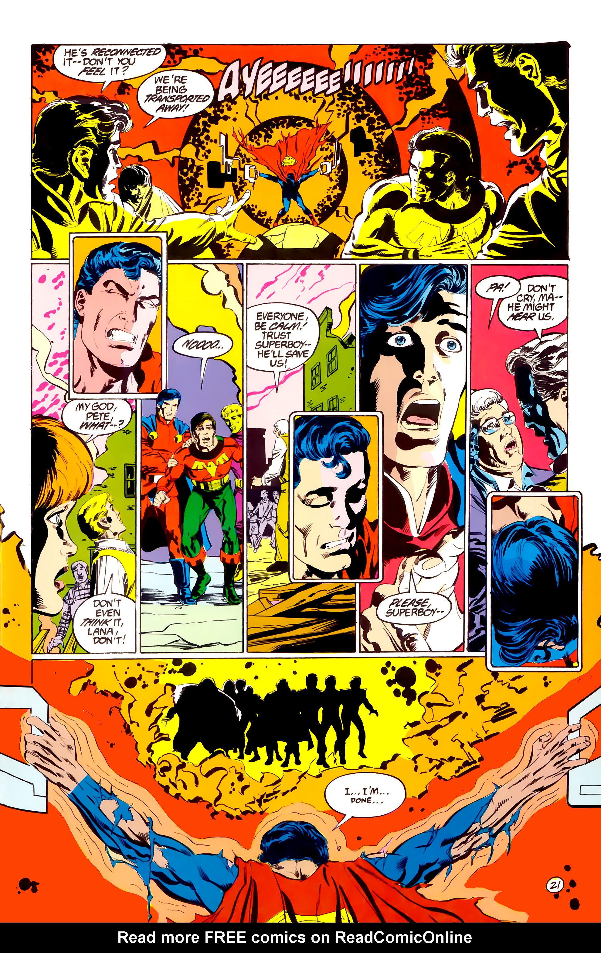 Legion of Super-Heroes (1984) 38 Page 21