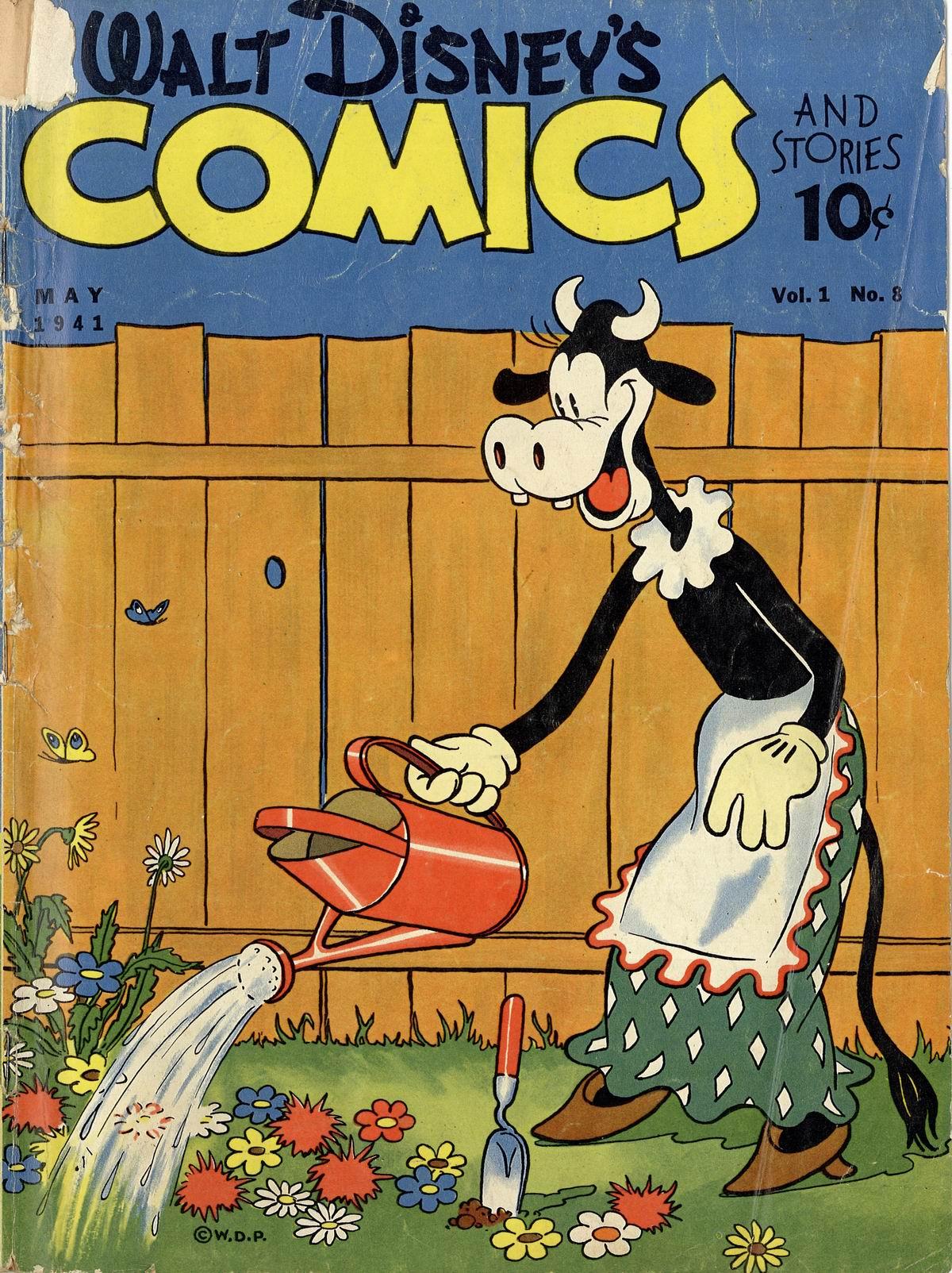 Walt Disneys Comics and Stories 8 Page 1