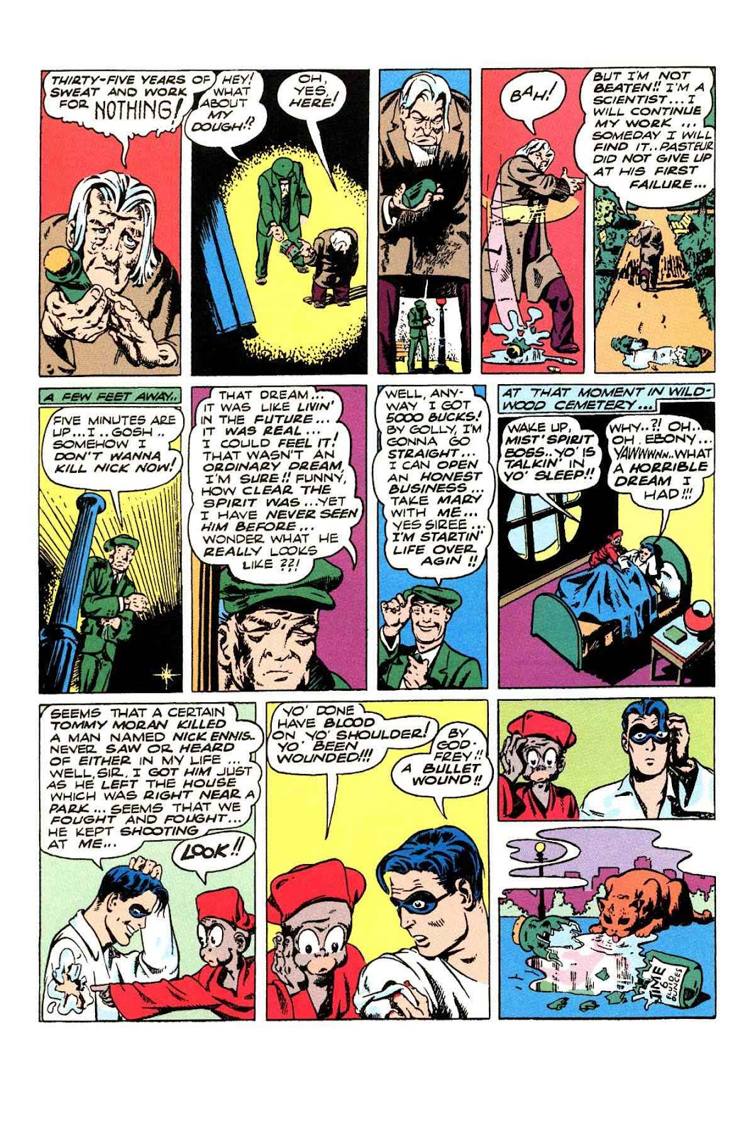 Read online Will Eisner's The Spirit Archives comic -  Issue # TPB 3 (Part 1) - 49