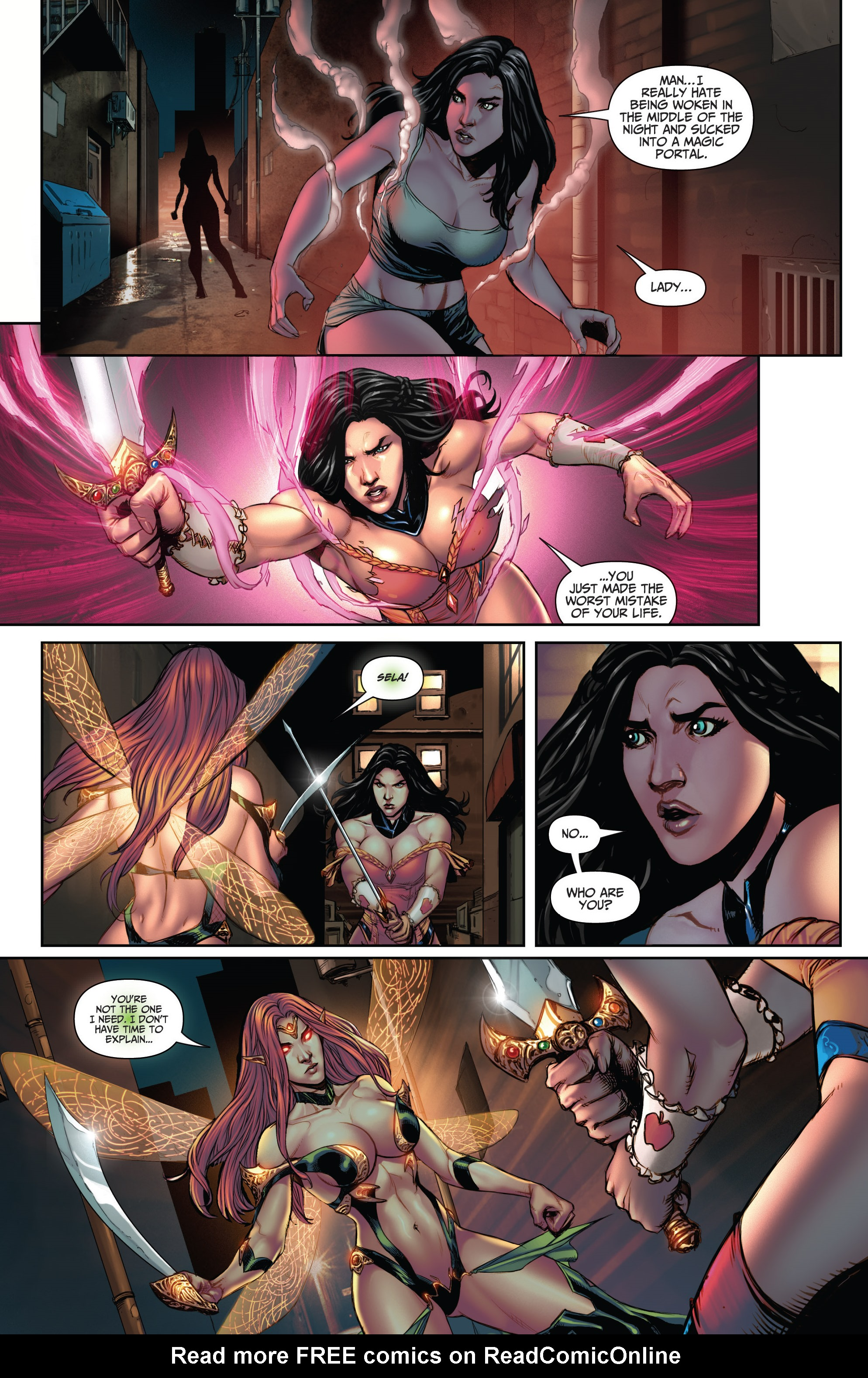 Read online Grimm Fairy Tales (2016) comic -  Issue #5 - 9