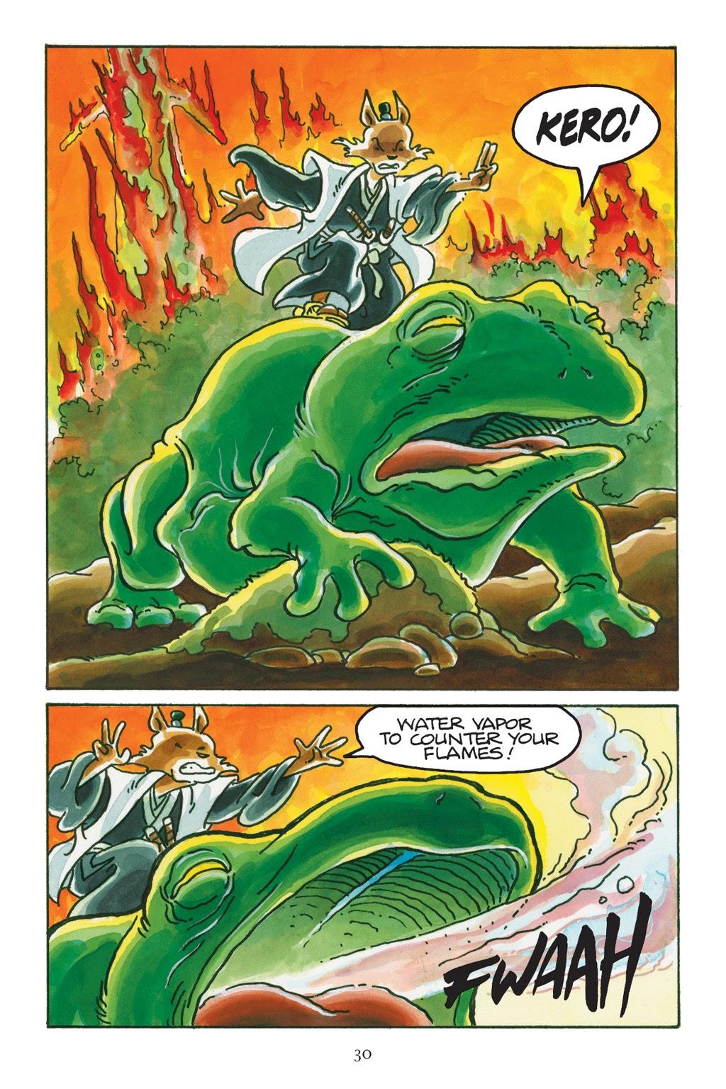 Read online Usagi Yojimbo: Yokai comic -  Issue # Full - 30