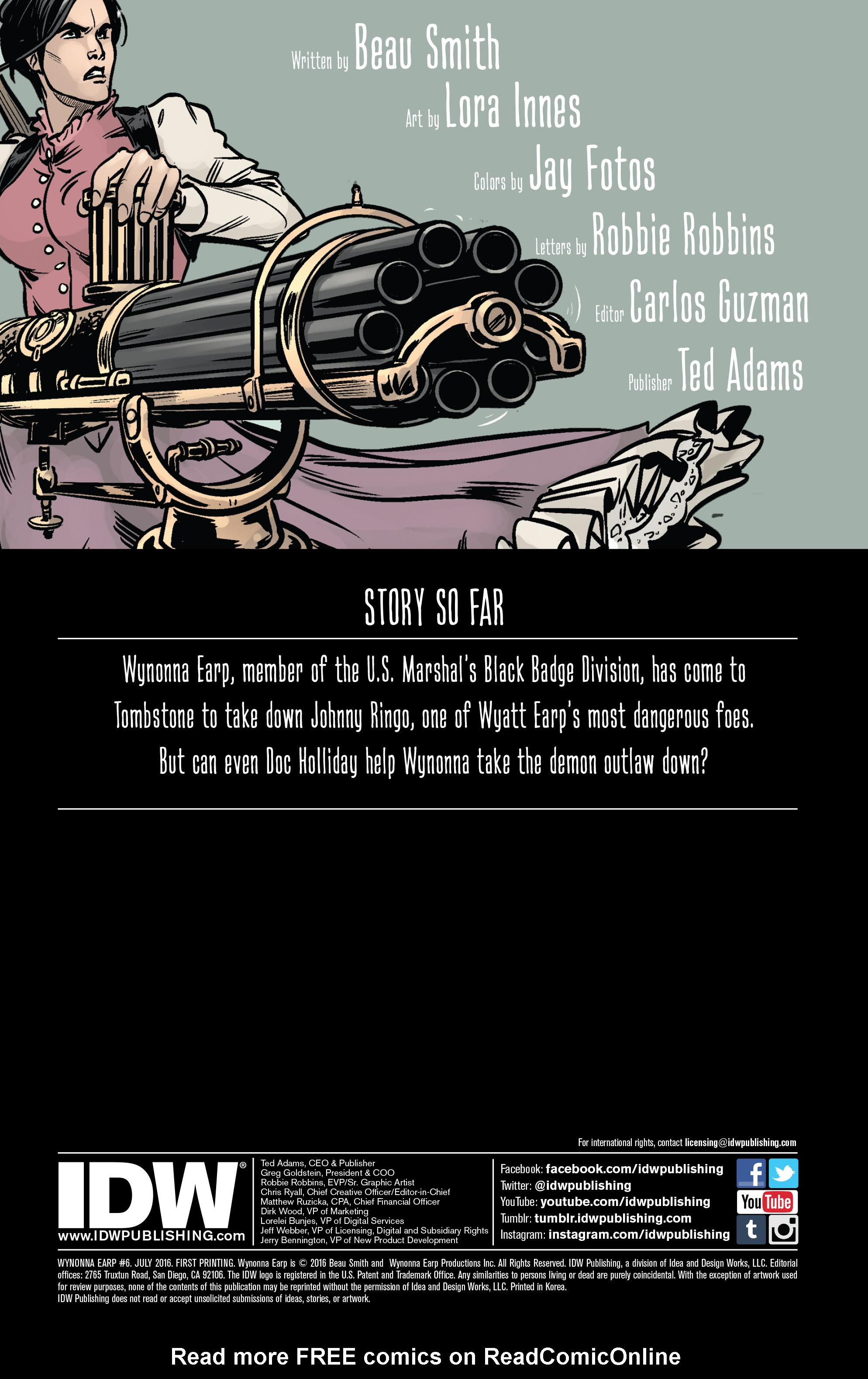 Read online Wynonna Earp (2016) comic -  Issue #6 - 2