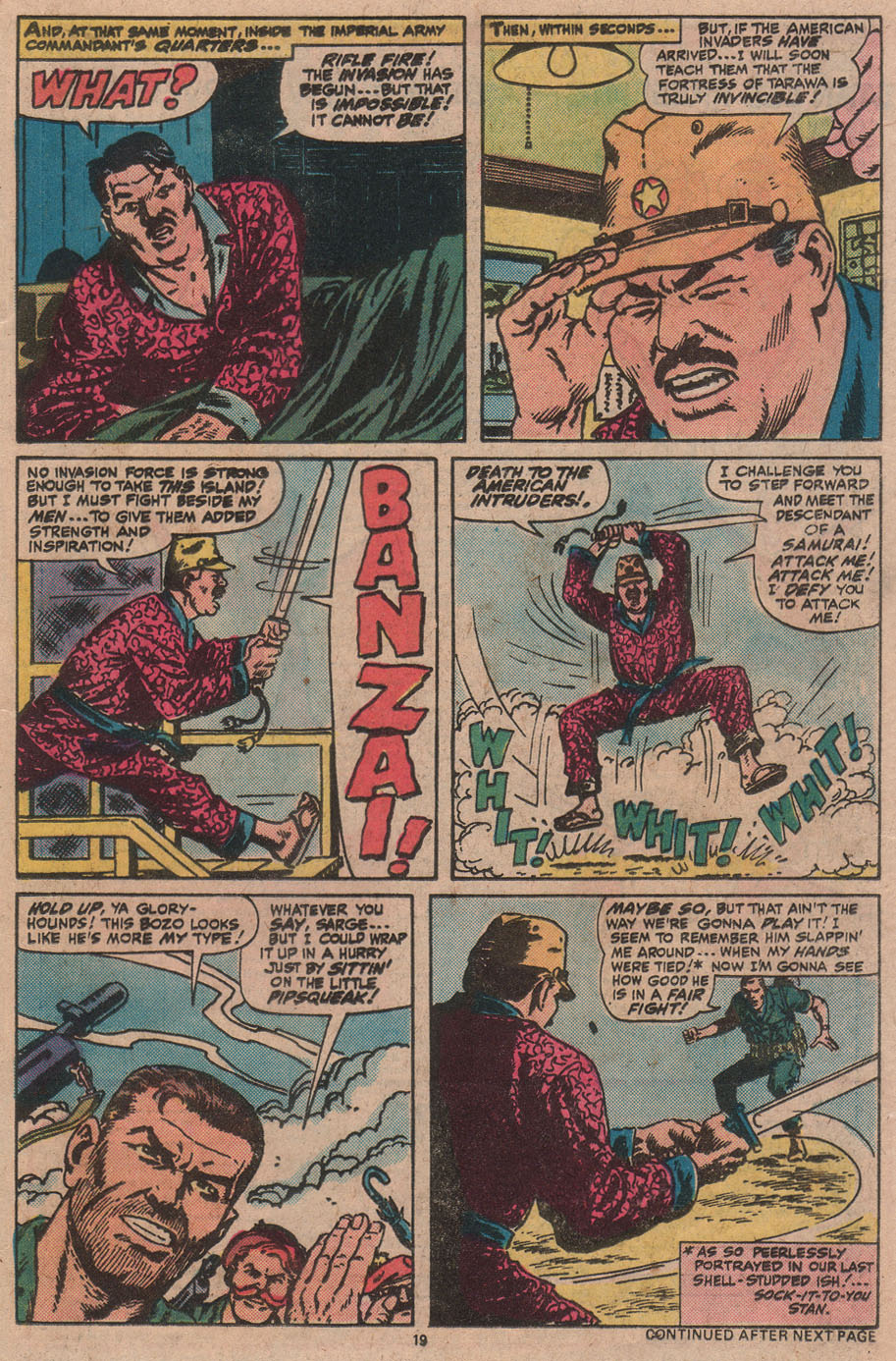Read online Sgt. Fury comic -  Issue #145 - 21